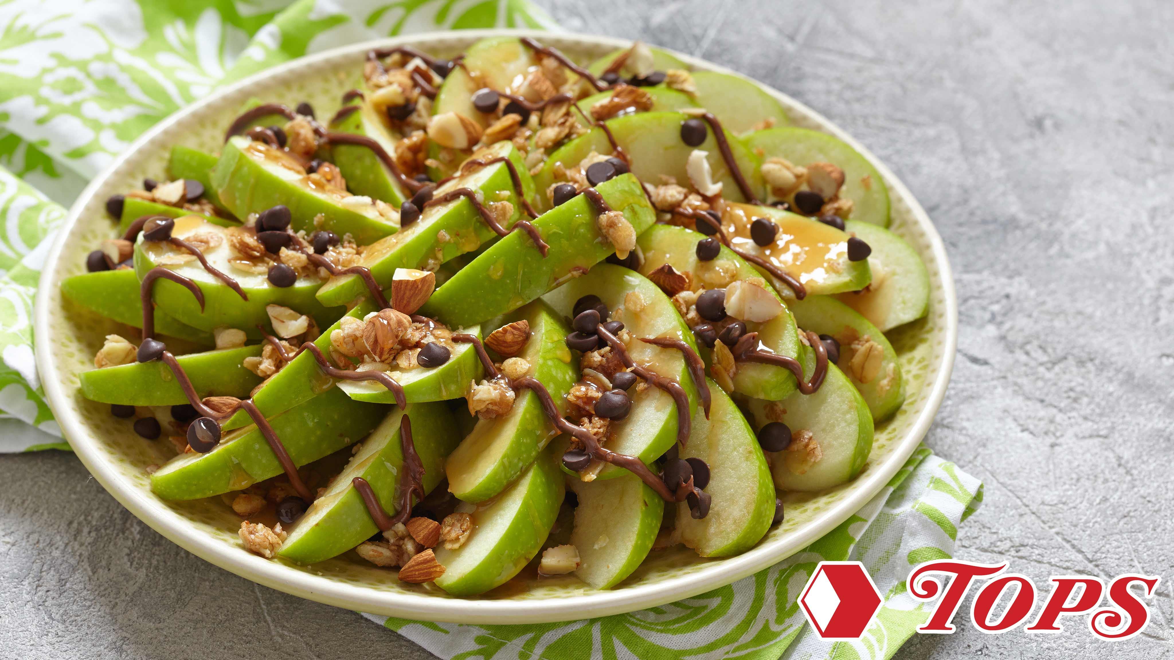 Image for Recipe Easy Caramel Apple Nachos