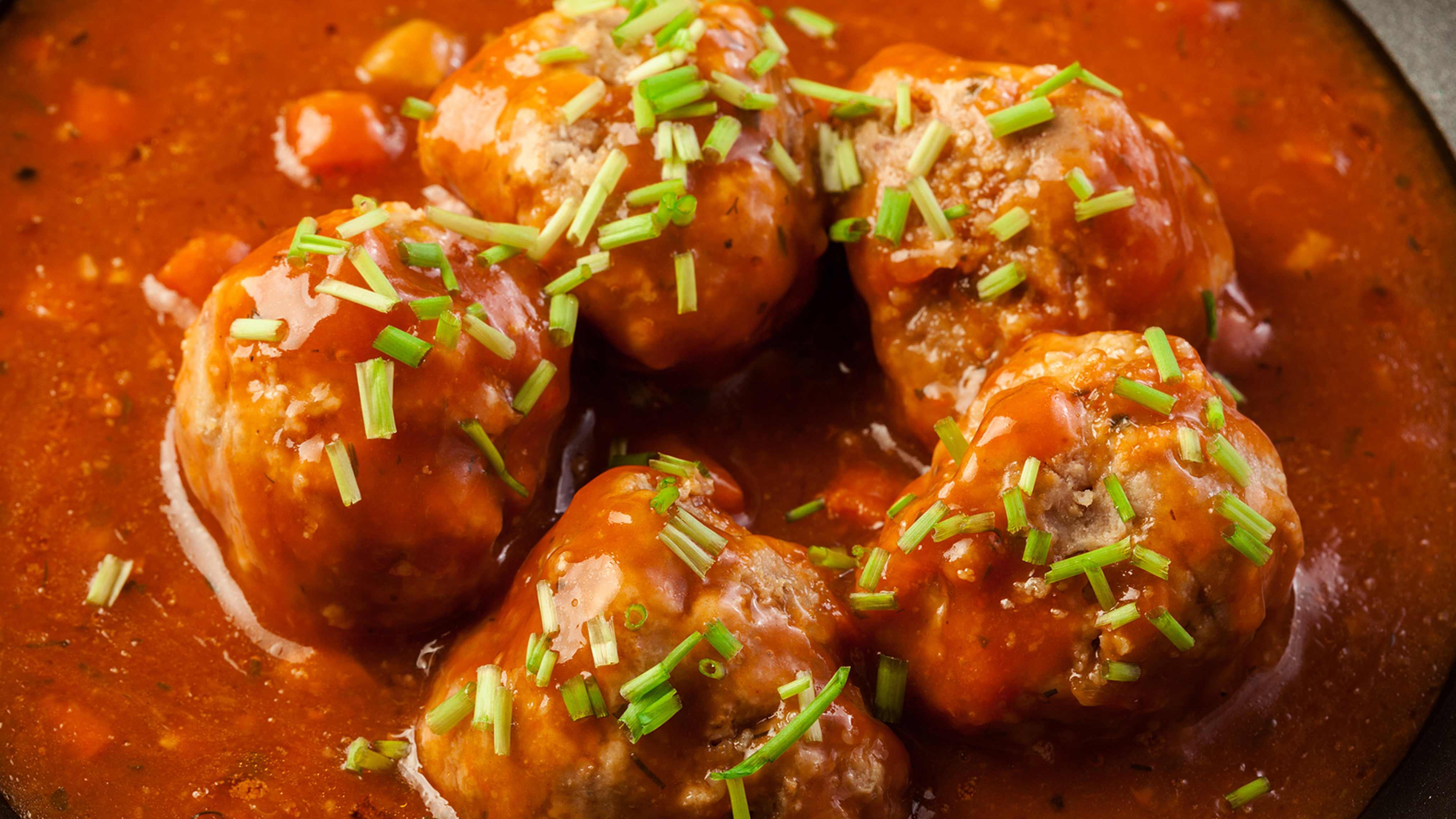 Image for Recipe Sweet and Sour Meatball Bites
