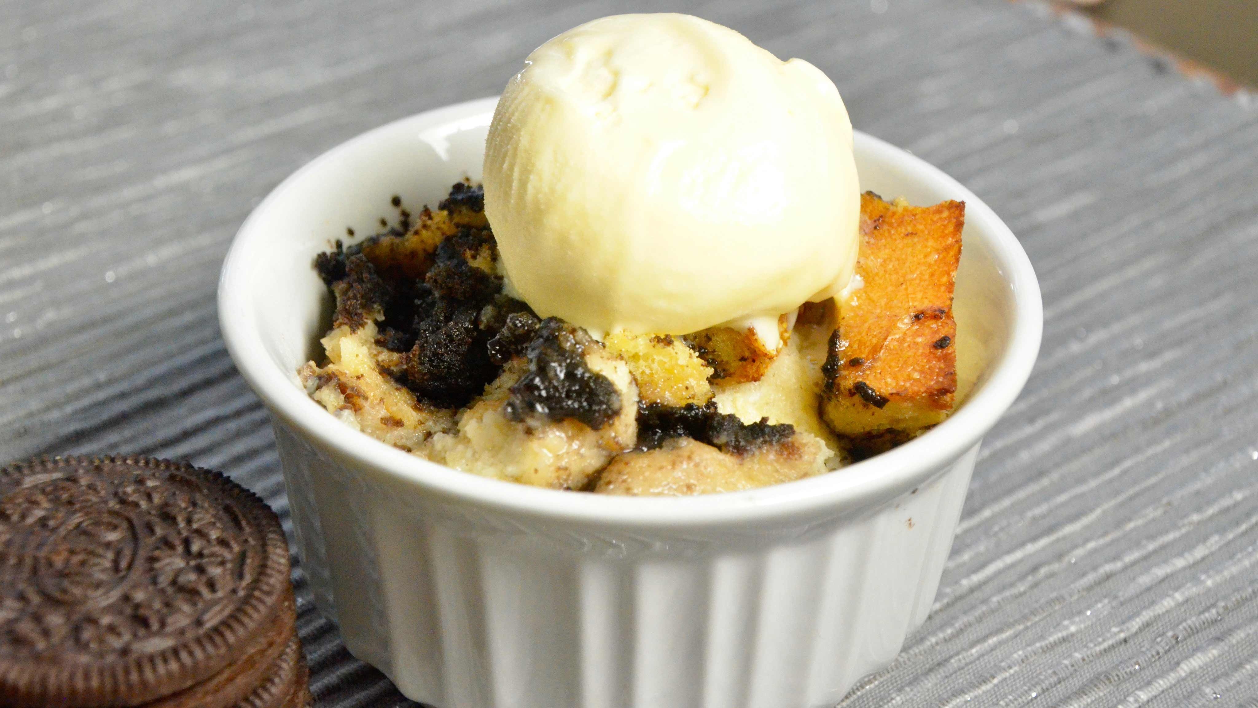 Image for Recipe Oreo Cookie Bread Pudding