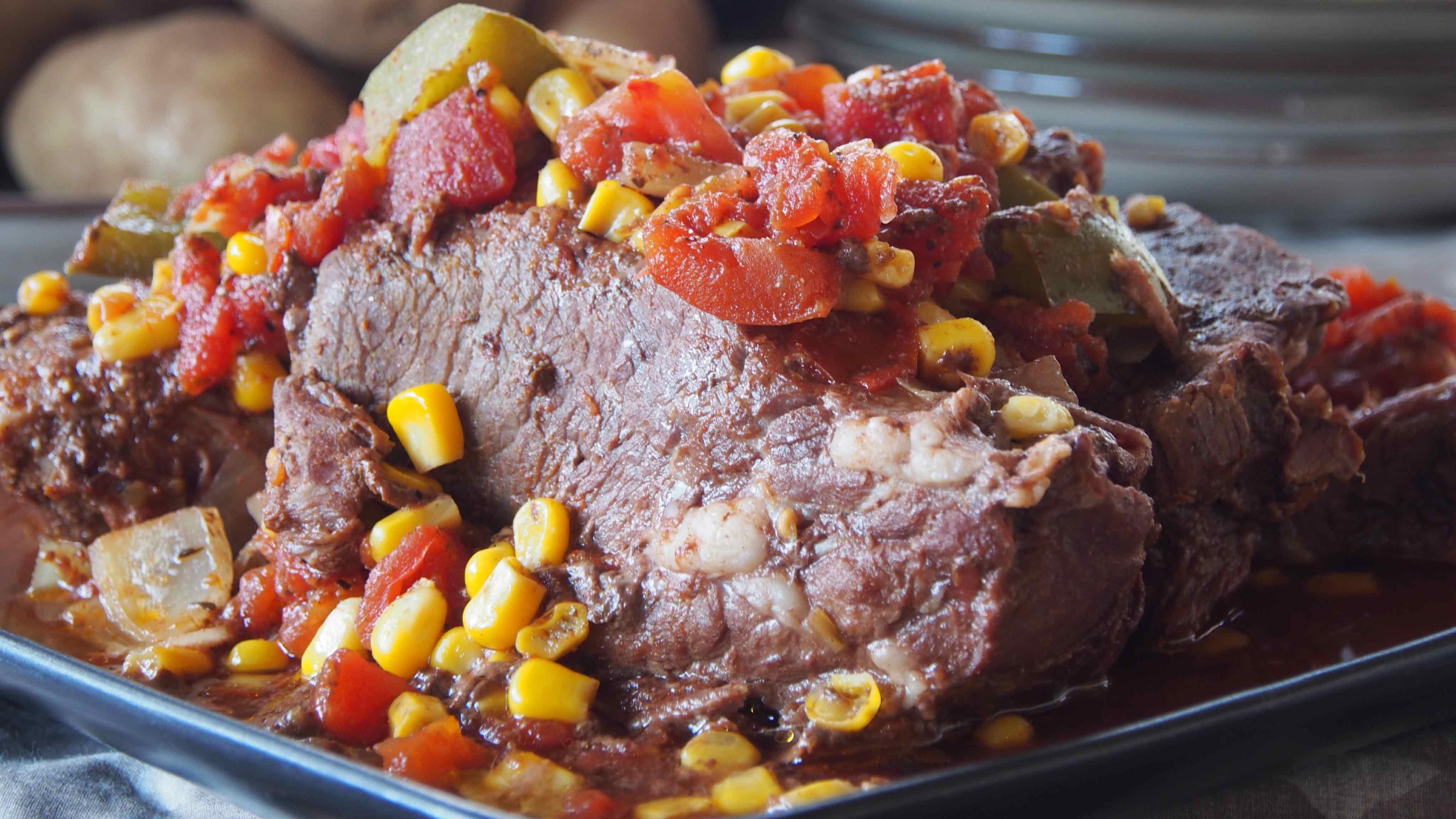 Image for Recipe Slow Cooker Cajun Pot Roast