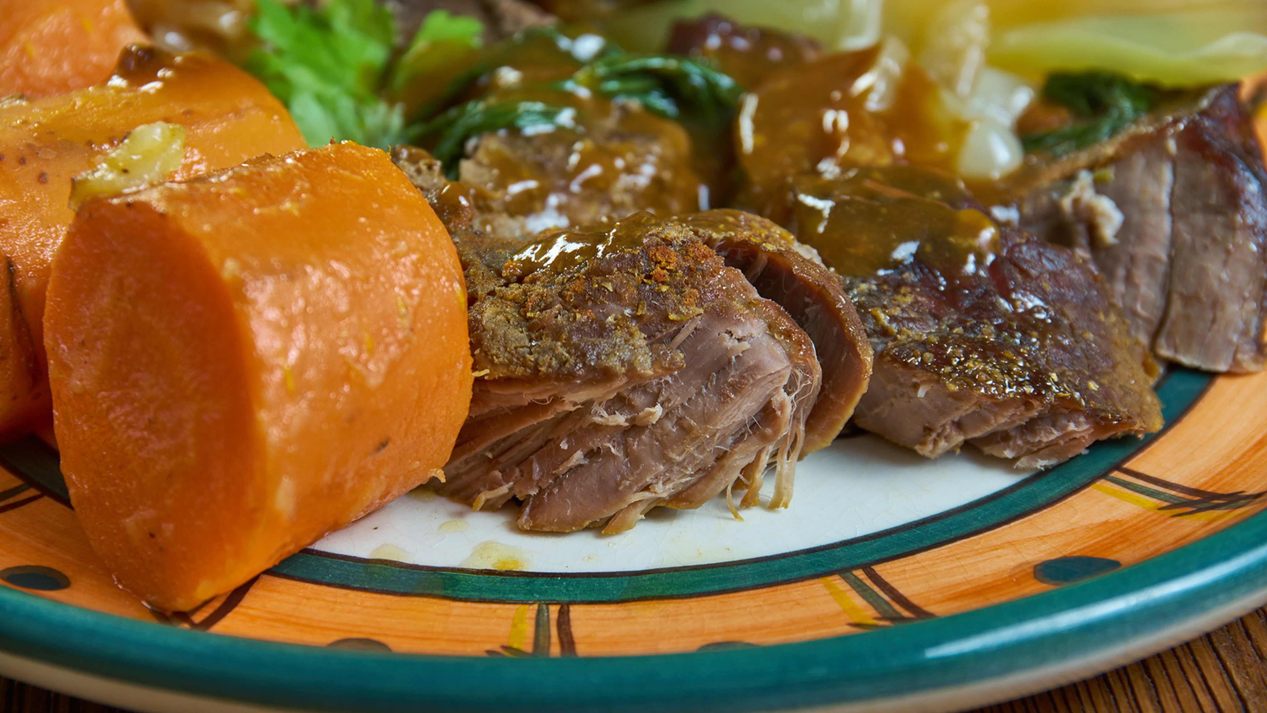Image for Recipe Slow Cooker Roast Beef and Gravy