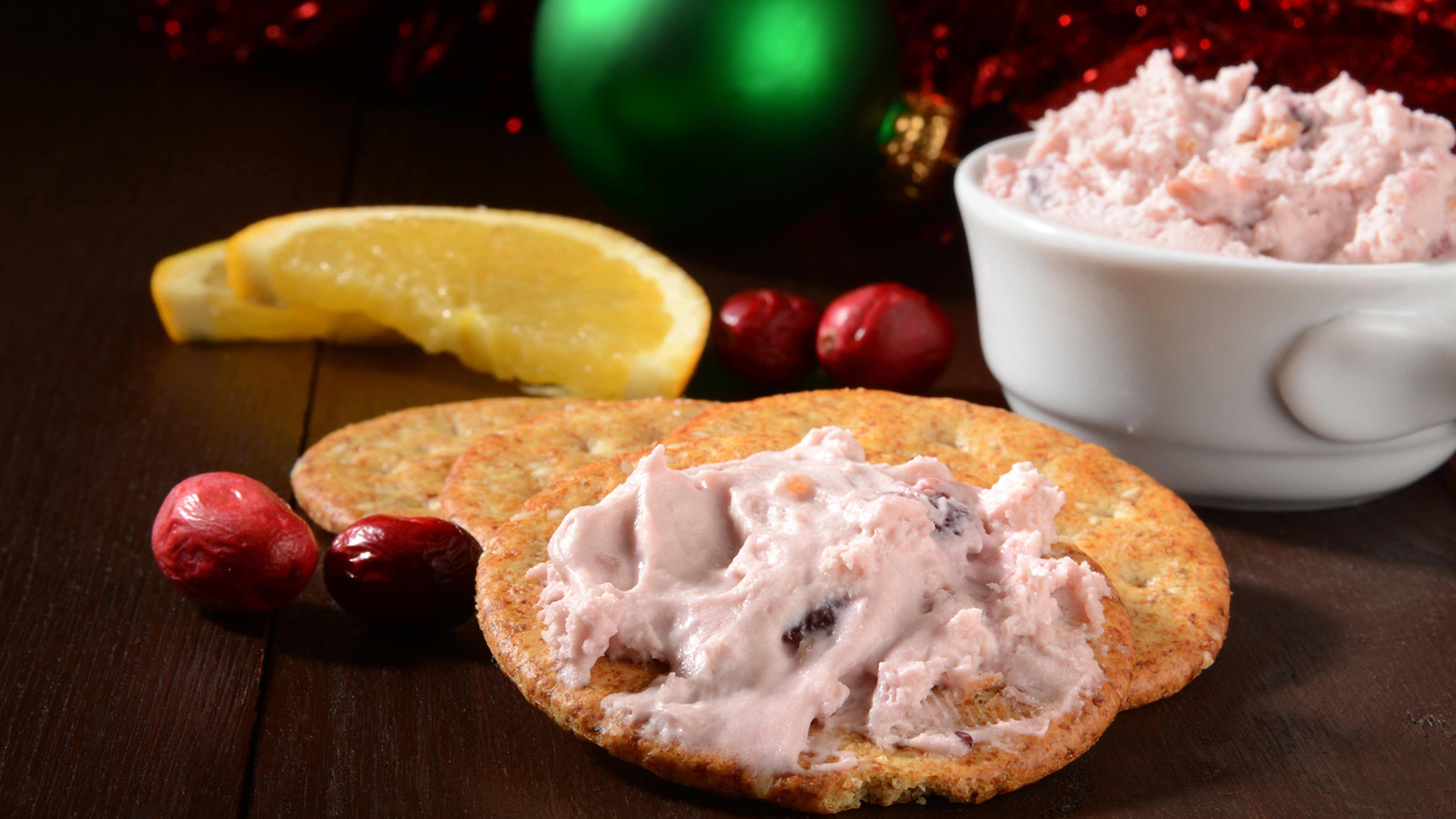Image for Recipe Dried Cranberry and Green Onion Dip