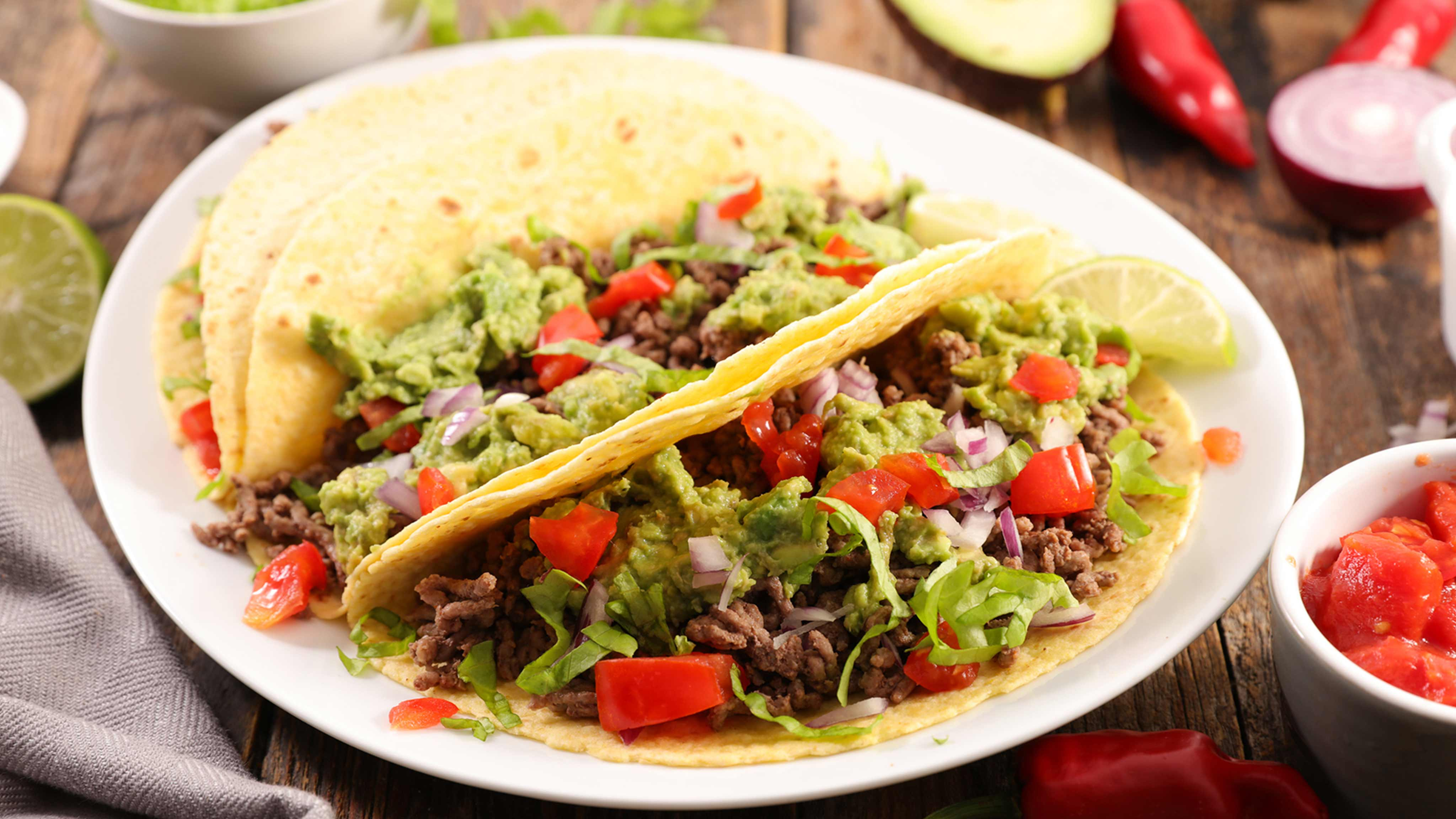 Image for Recipe Double Wrap Tacos
