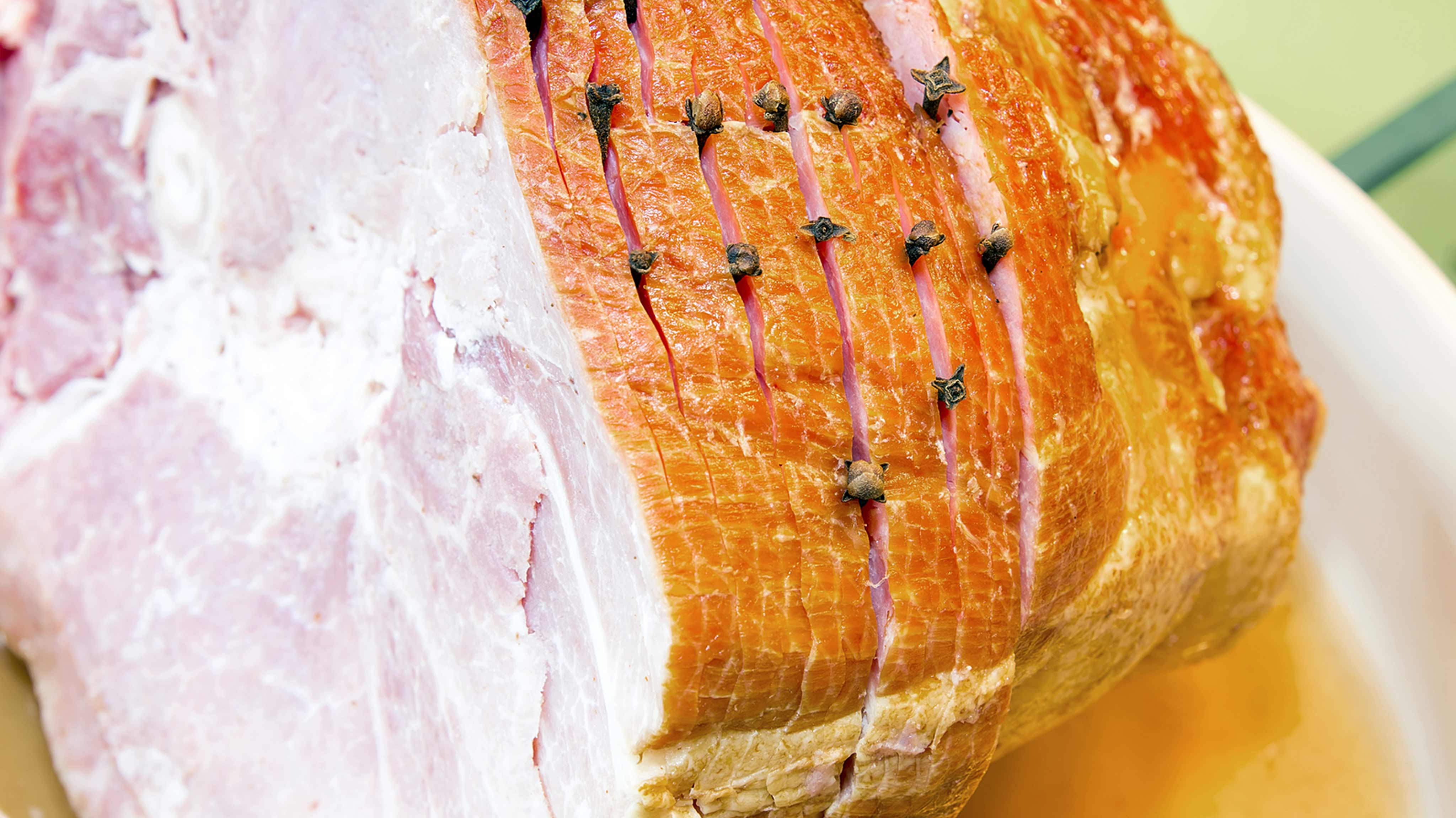 Image for Recipe Baked Spiral Cut Ham with Honey Apricot Glaze