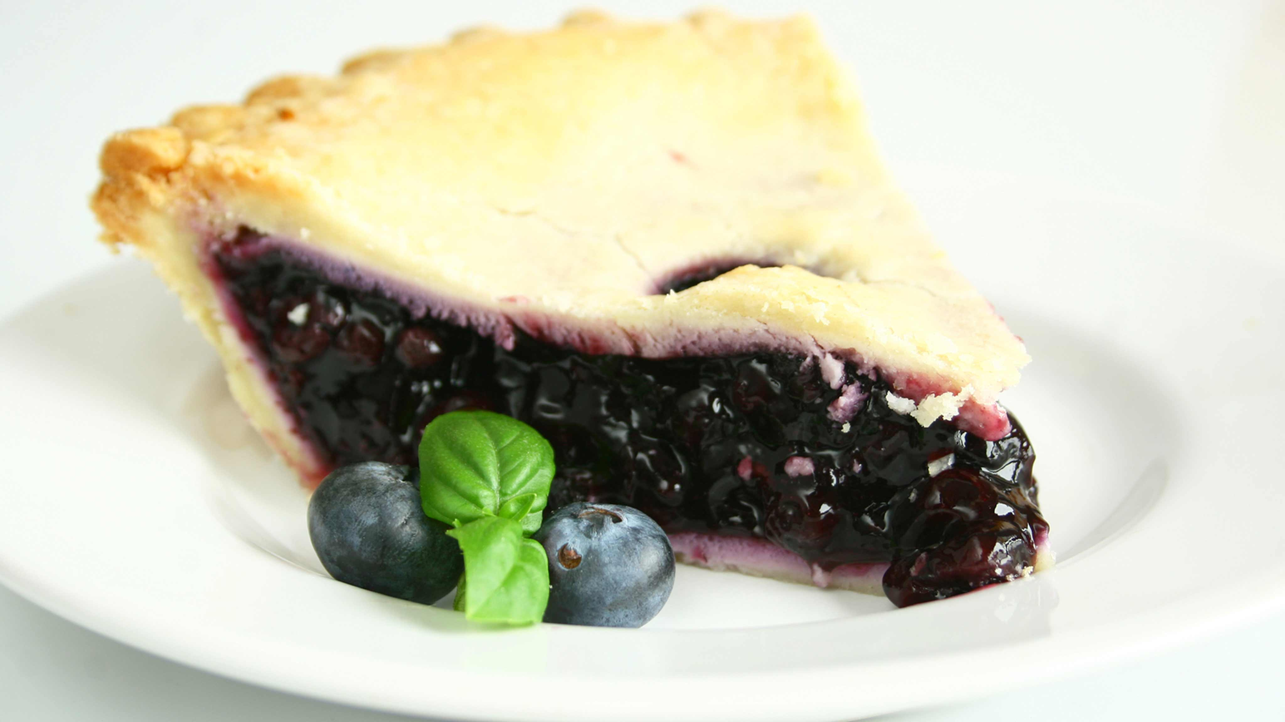 Image for Recipe No Bake Blueberry Pie