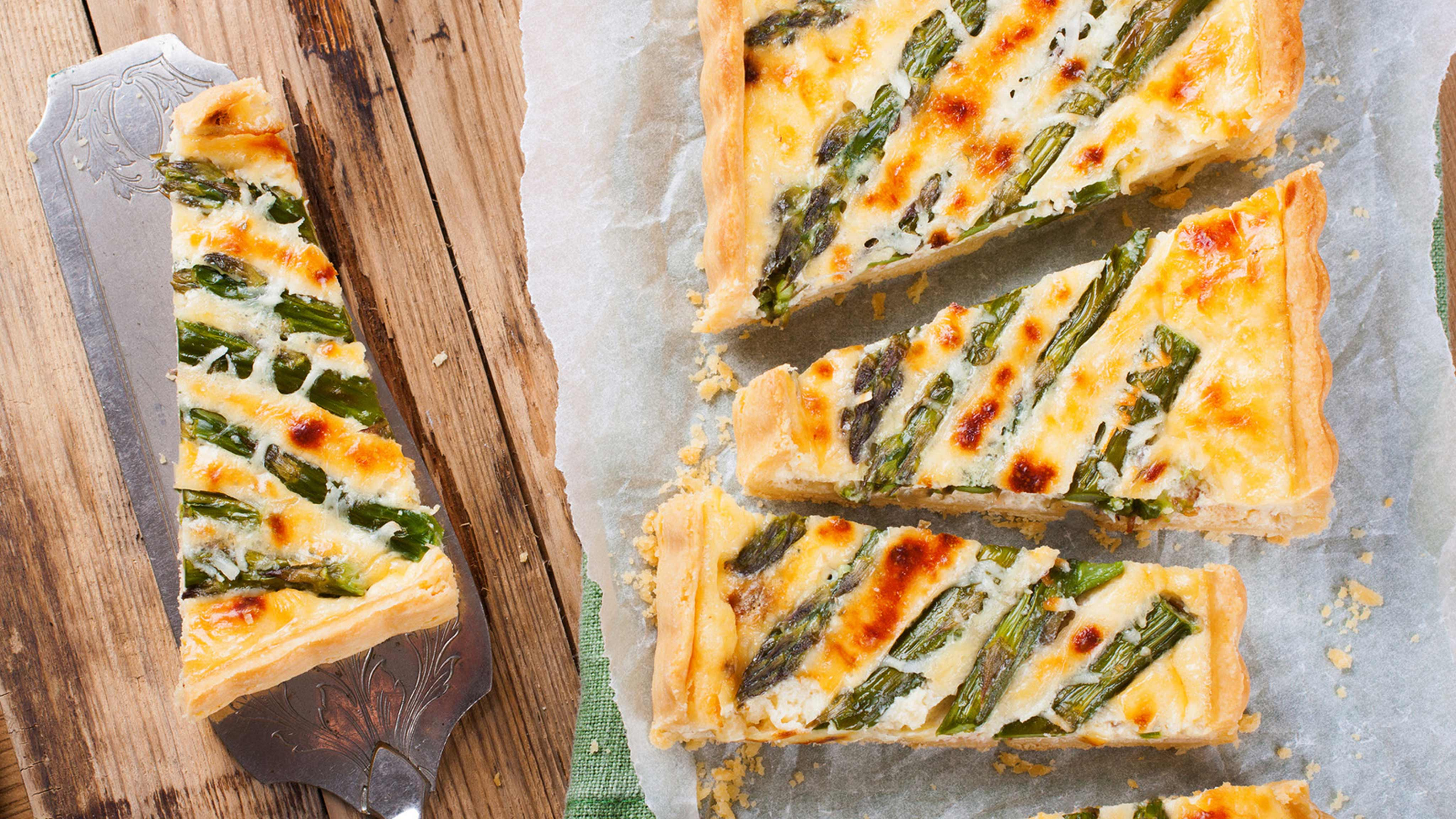 Image for Recipe Asparagus Quiche