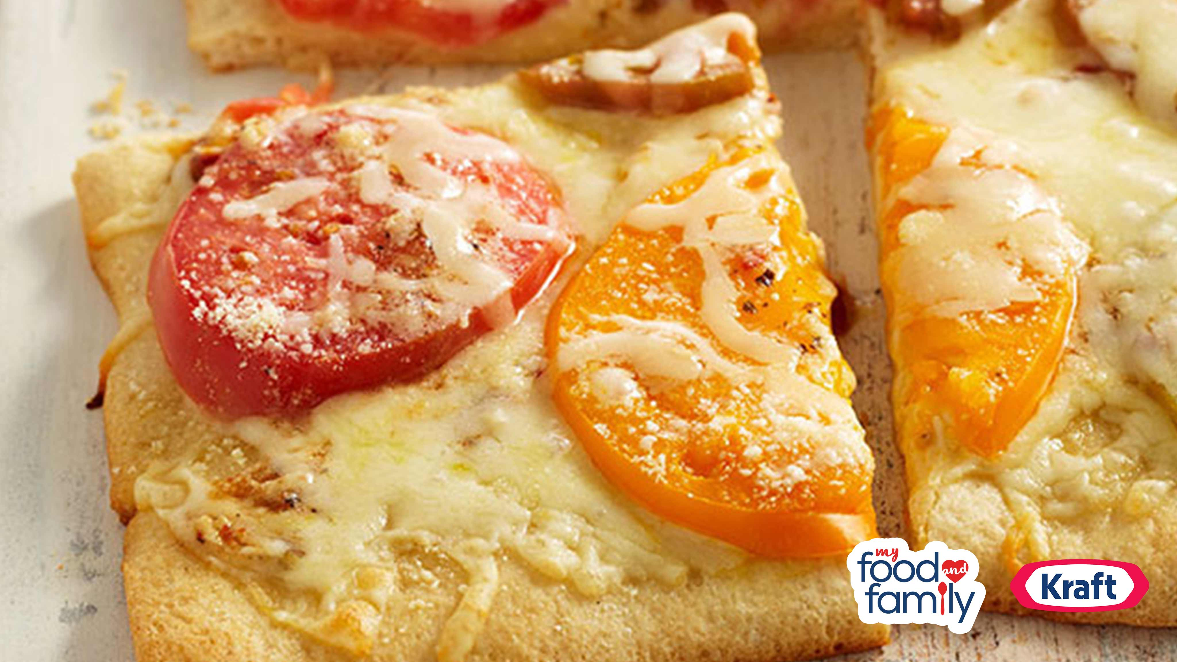 Image for Recipe Heirloom Pizza Margherita