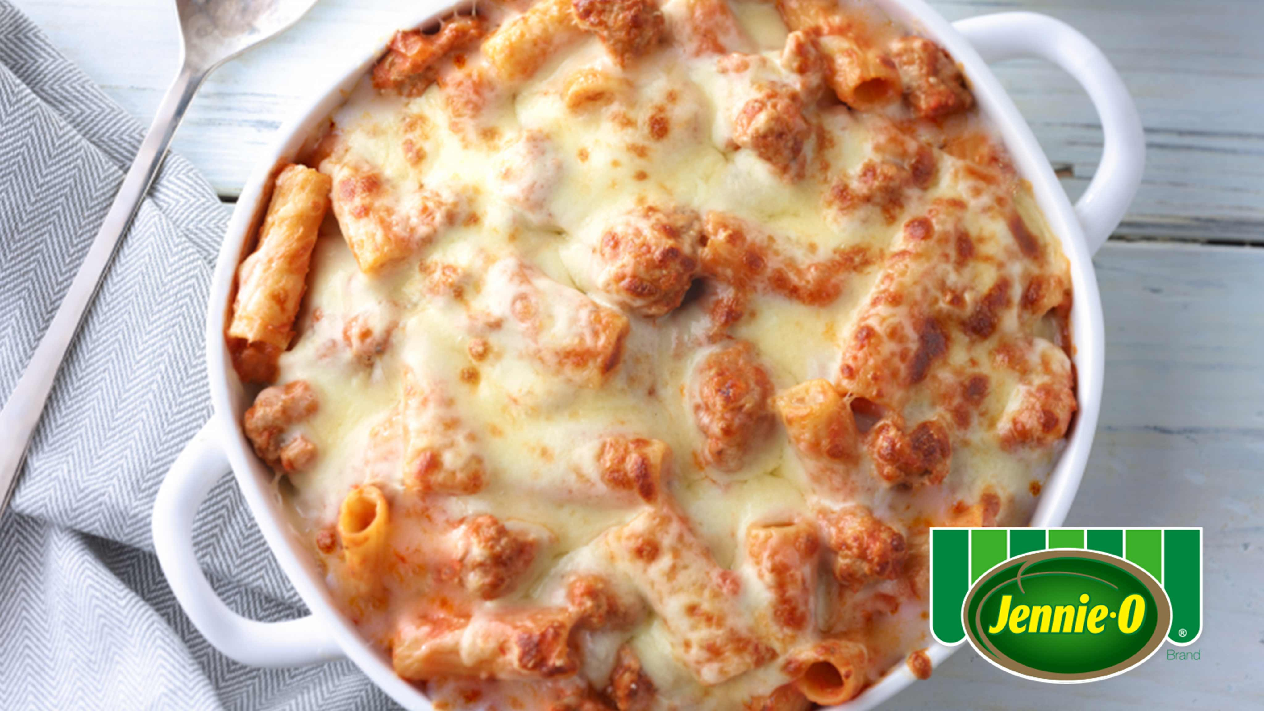 Image for Recipe Baked Turkey Rigatoni