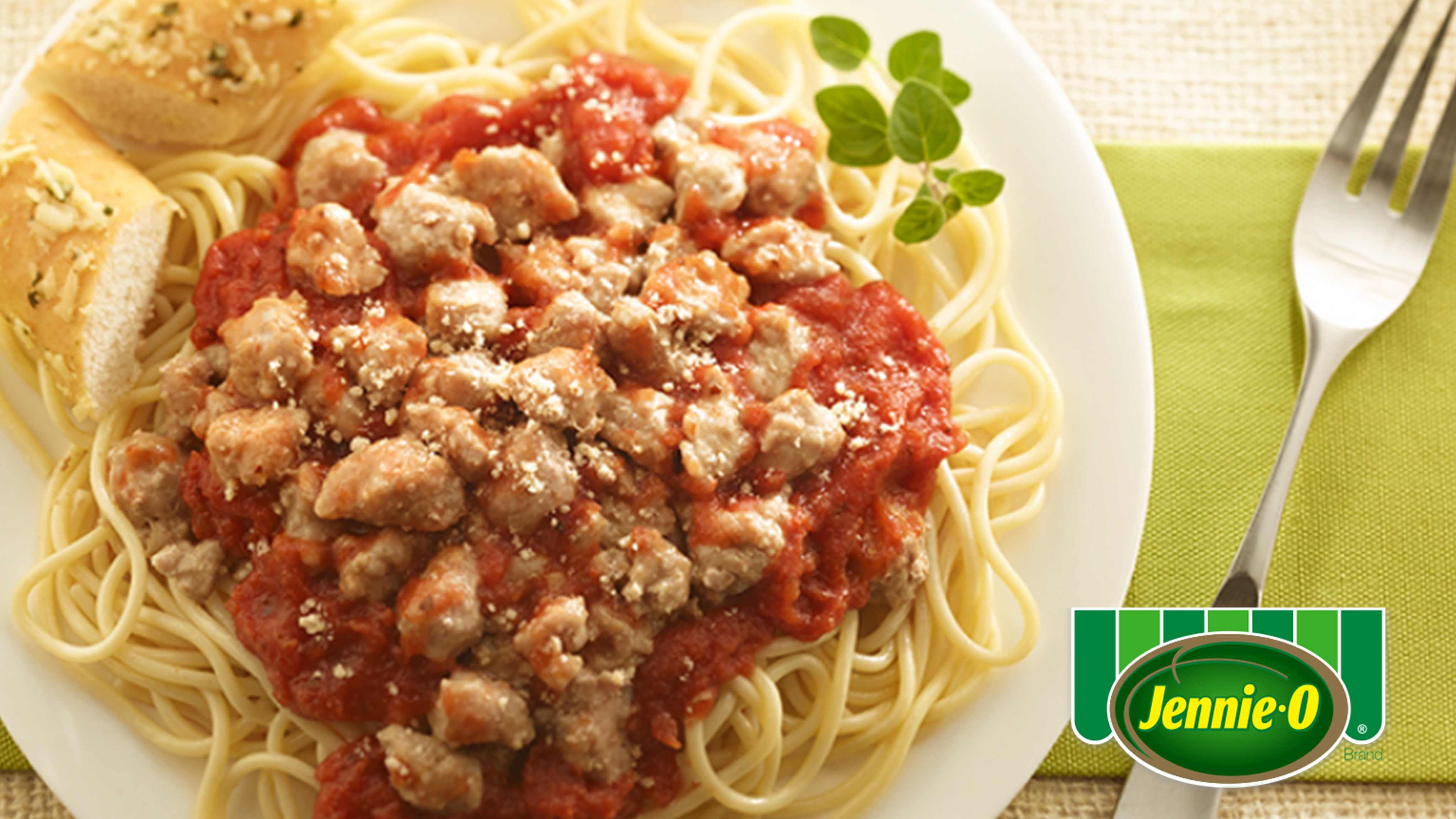 Image for Recipe Italian Turkey Spaghetti