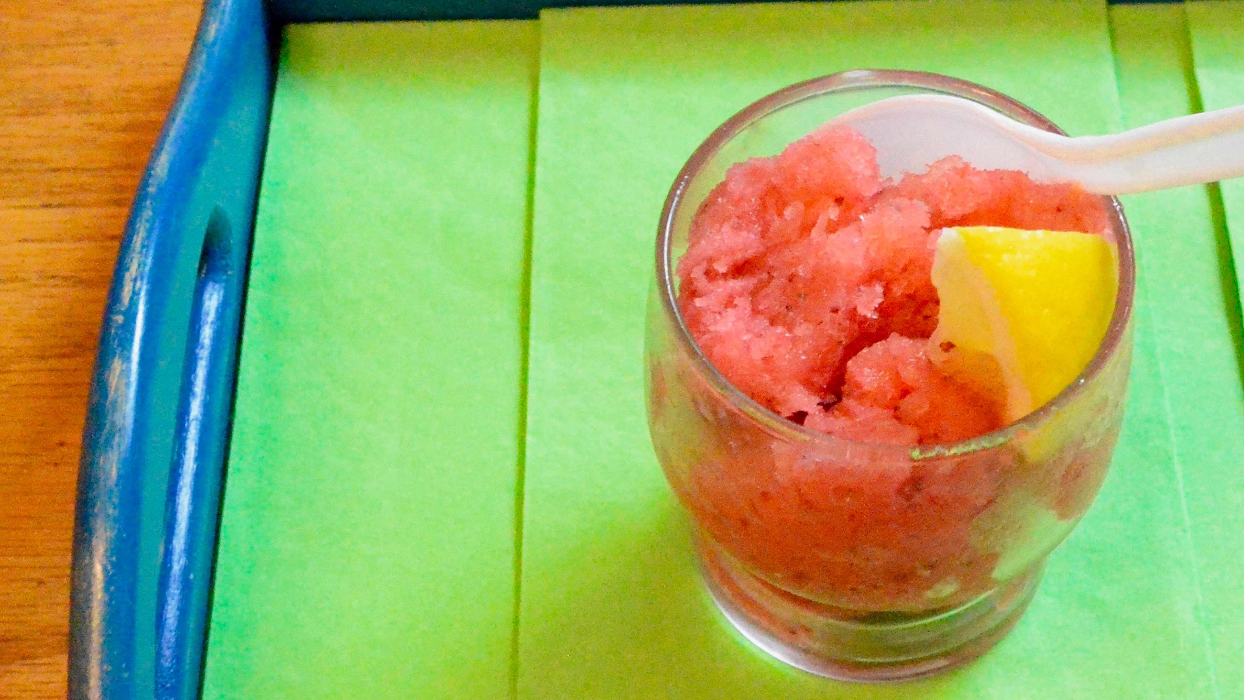 Image for Recipe Strawberry Granita