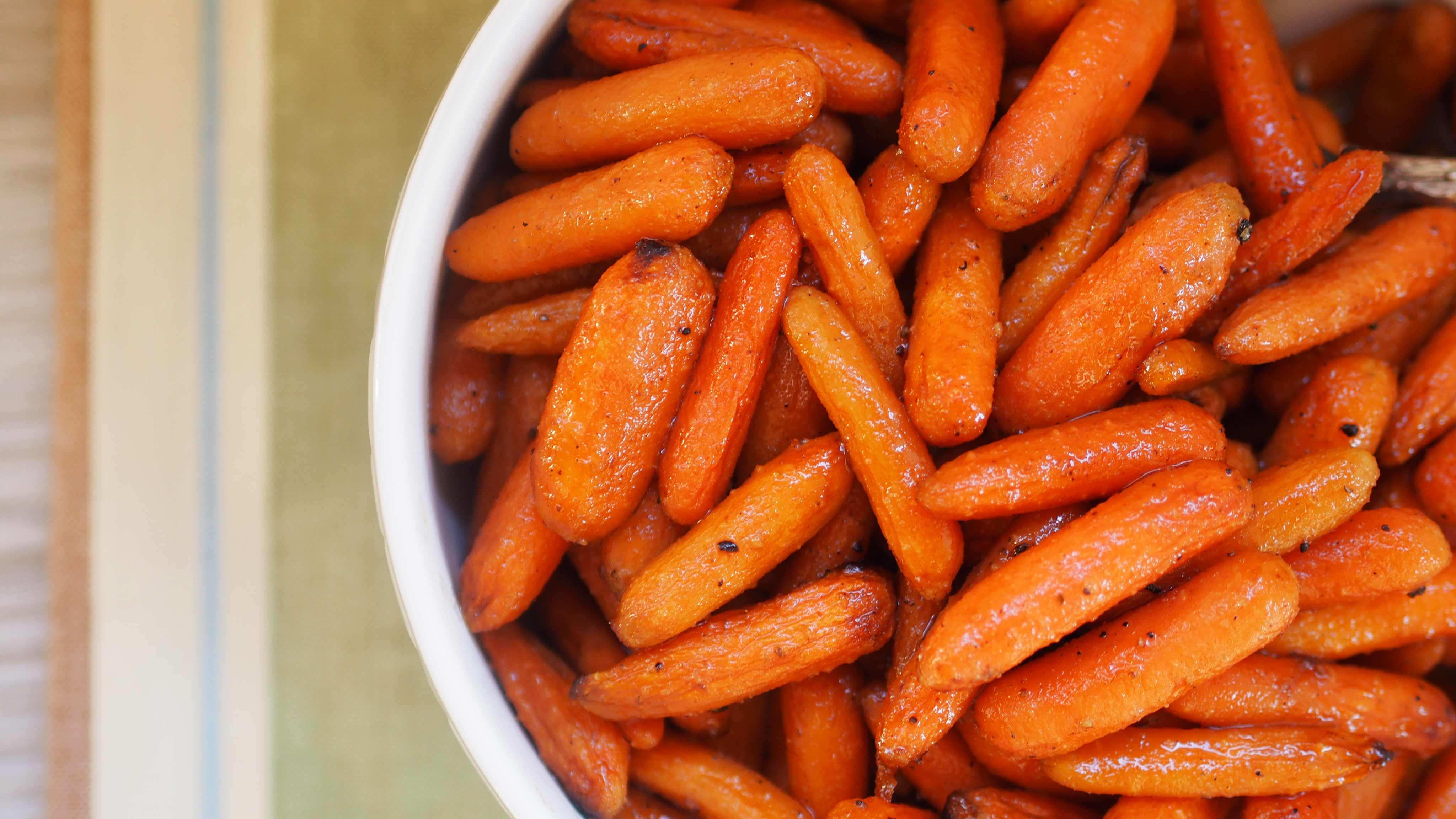 Image for Recipe Roasted Ginger Glazed Carrots