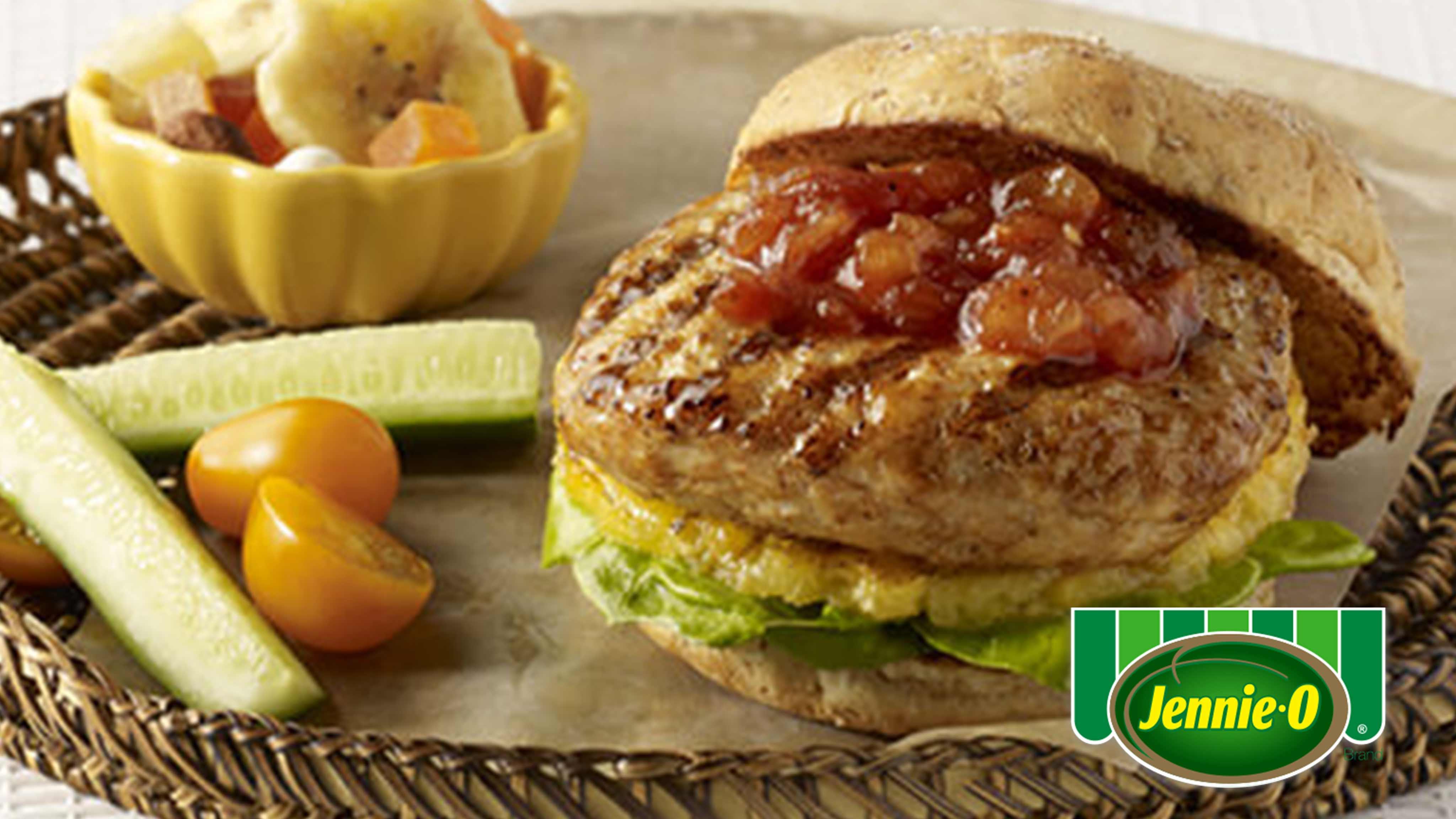 Image for Recipe Hawaiian Turkey Burgers