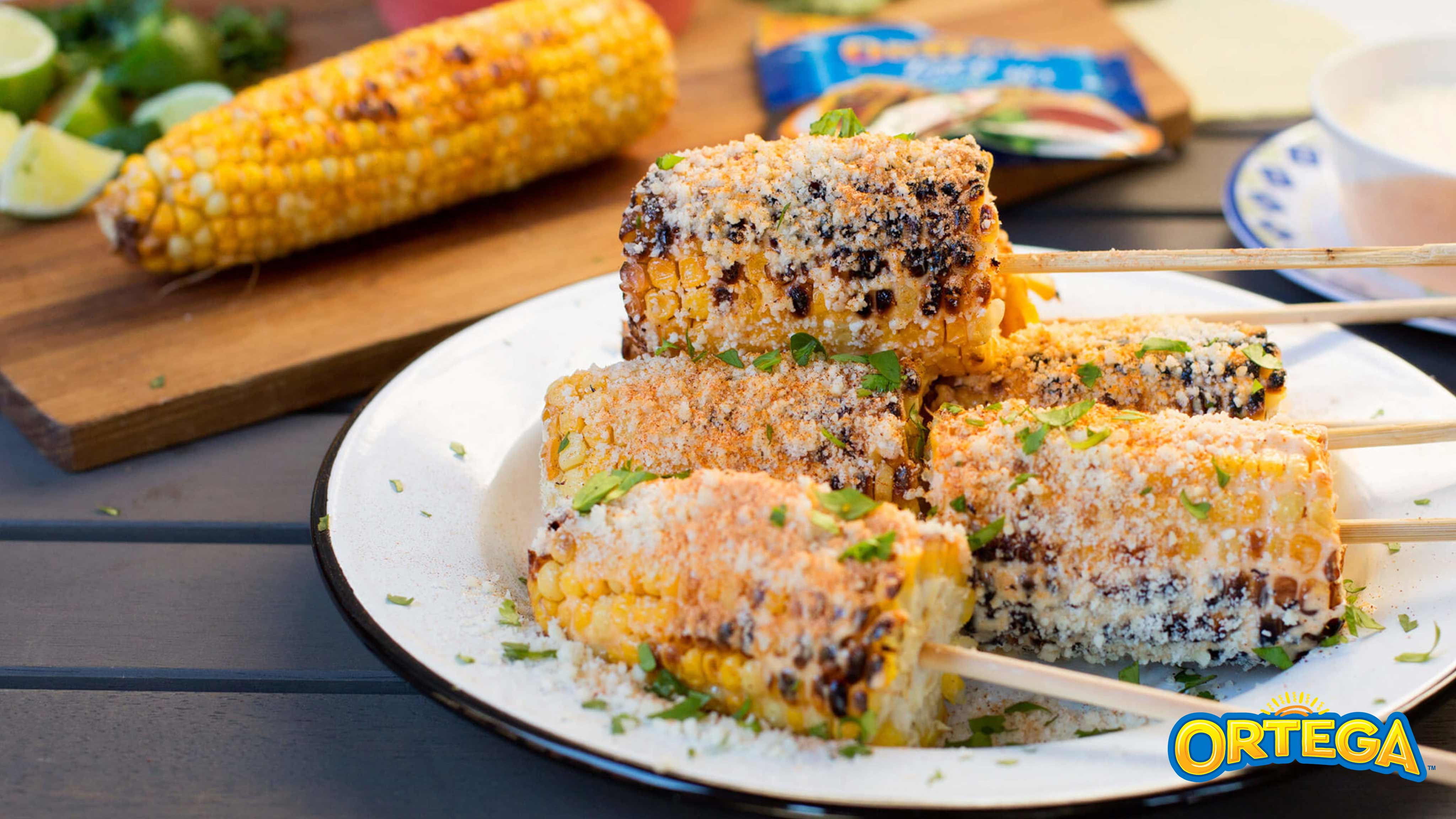 Image for Recipe Mexican Style Grilled Corn