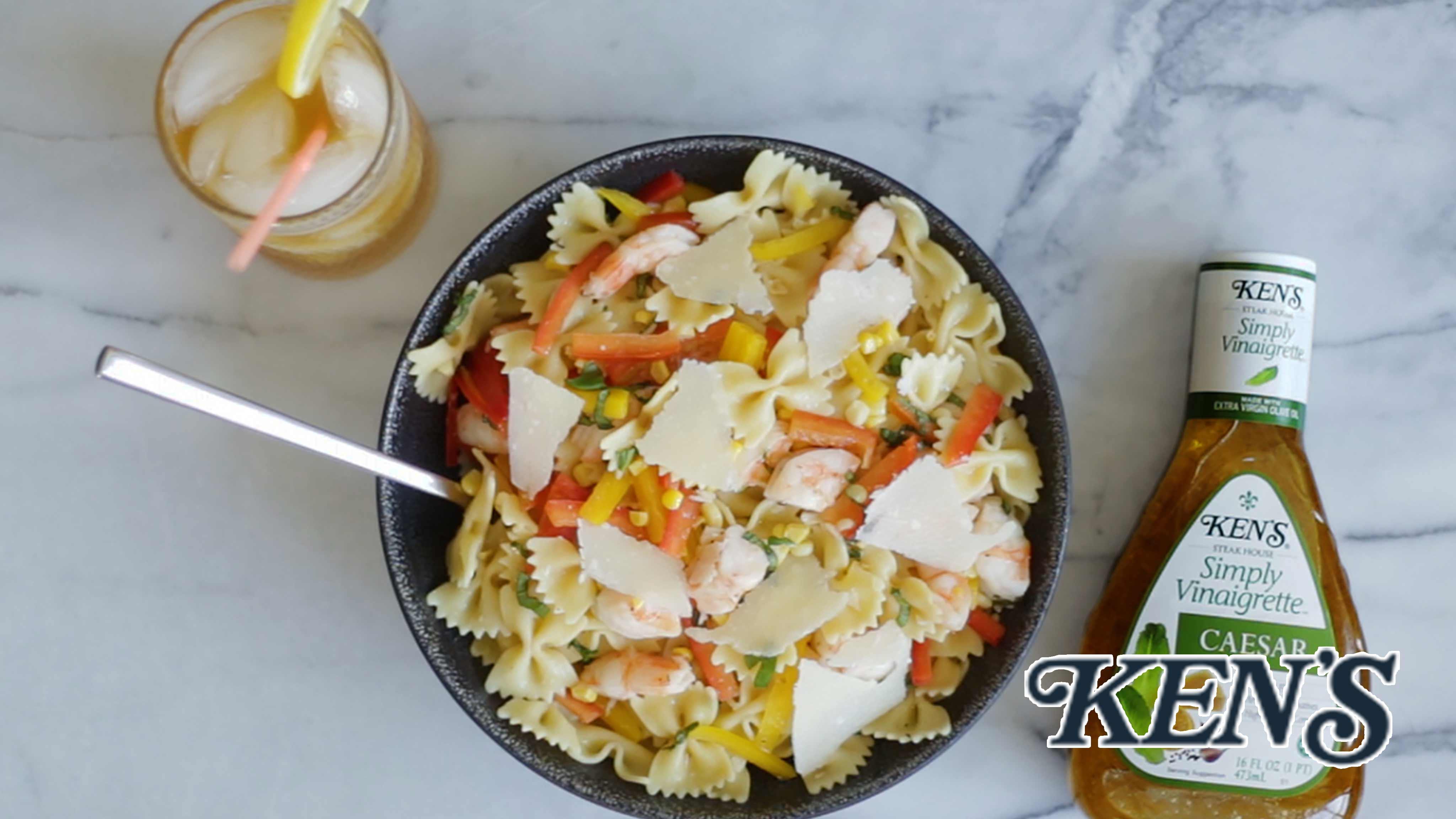 Image for Recipe Shrimp and Corn Pasta Salad