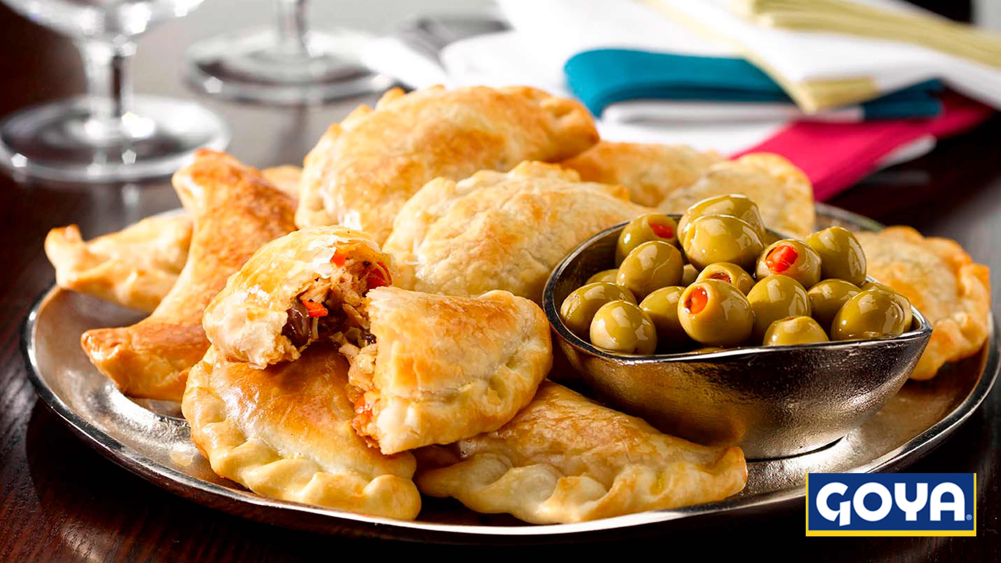 Image for Recipe Argentinean-Style Chicken Empanadas