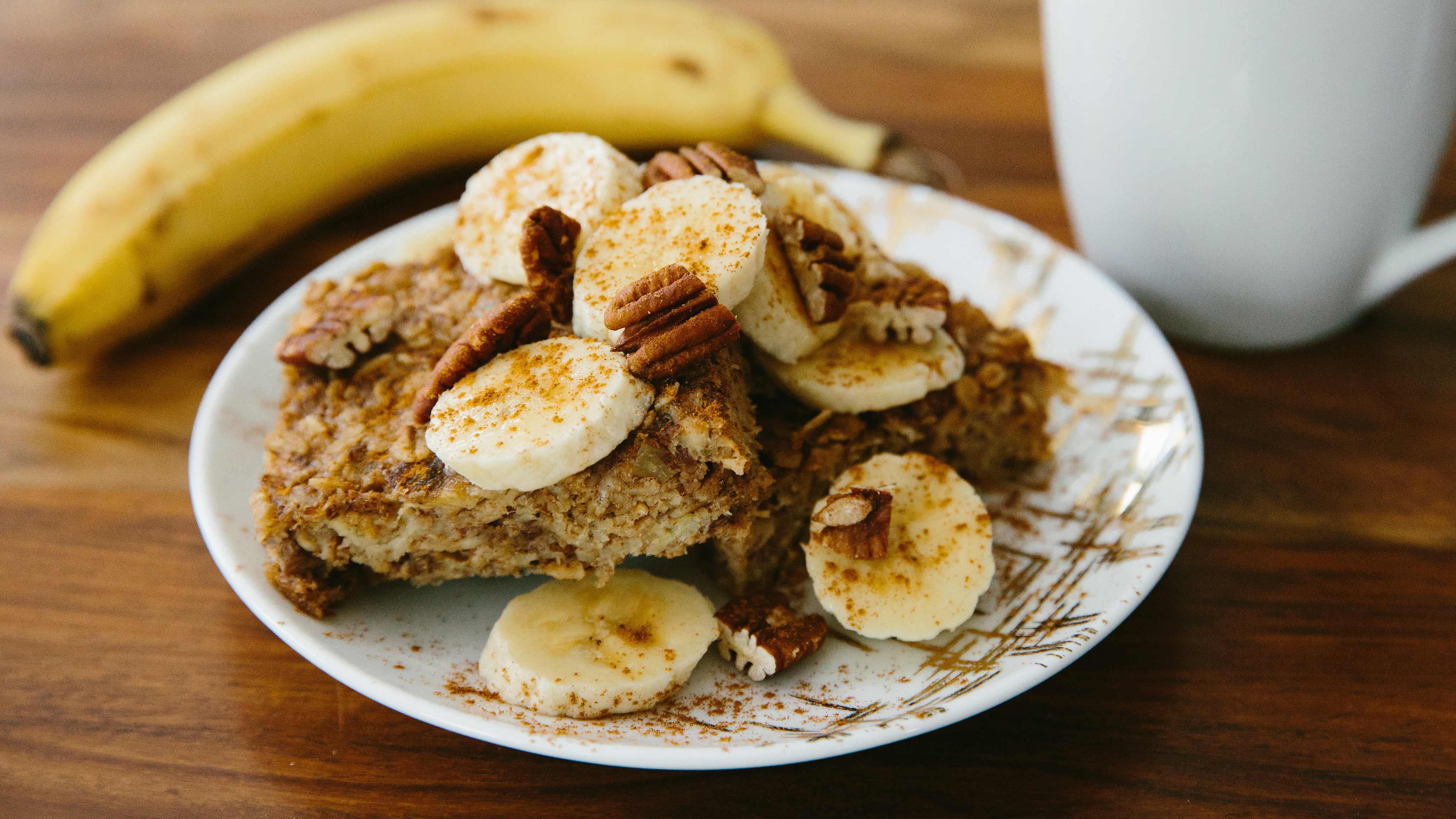 Image for Recipe Banana Nut Oatmeal