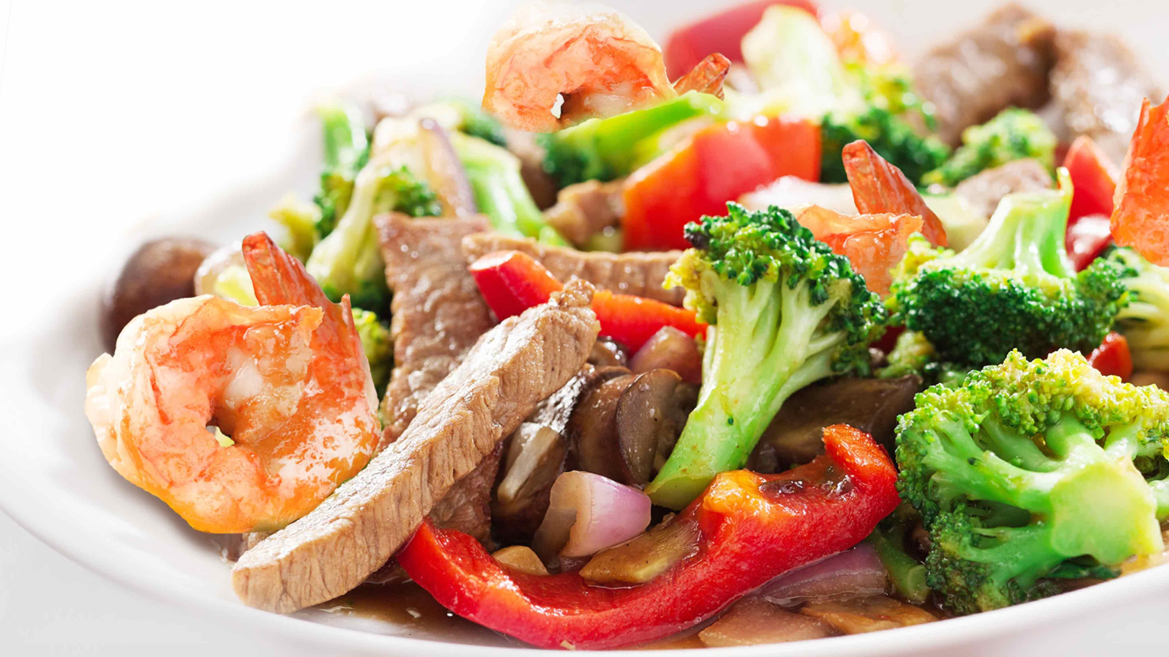 Image for Recipe Beef and Shrimp Stir Fry