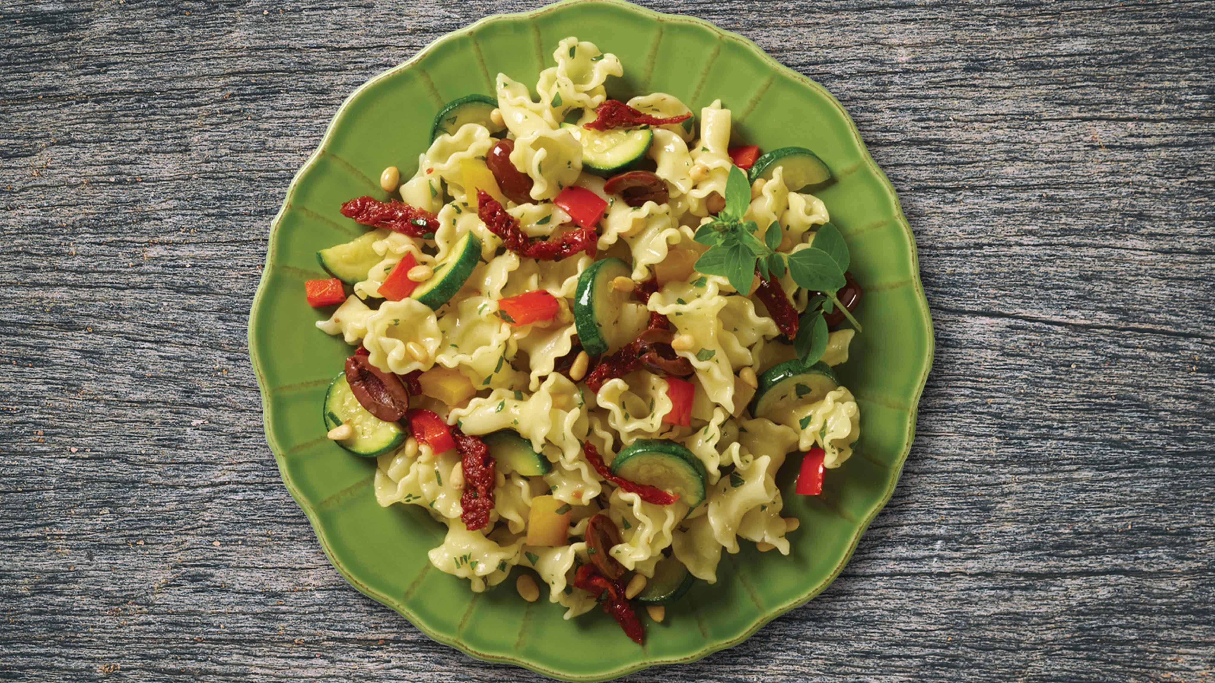 Image for Recipe Mediterranean Casarecce Corte Pasta