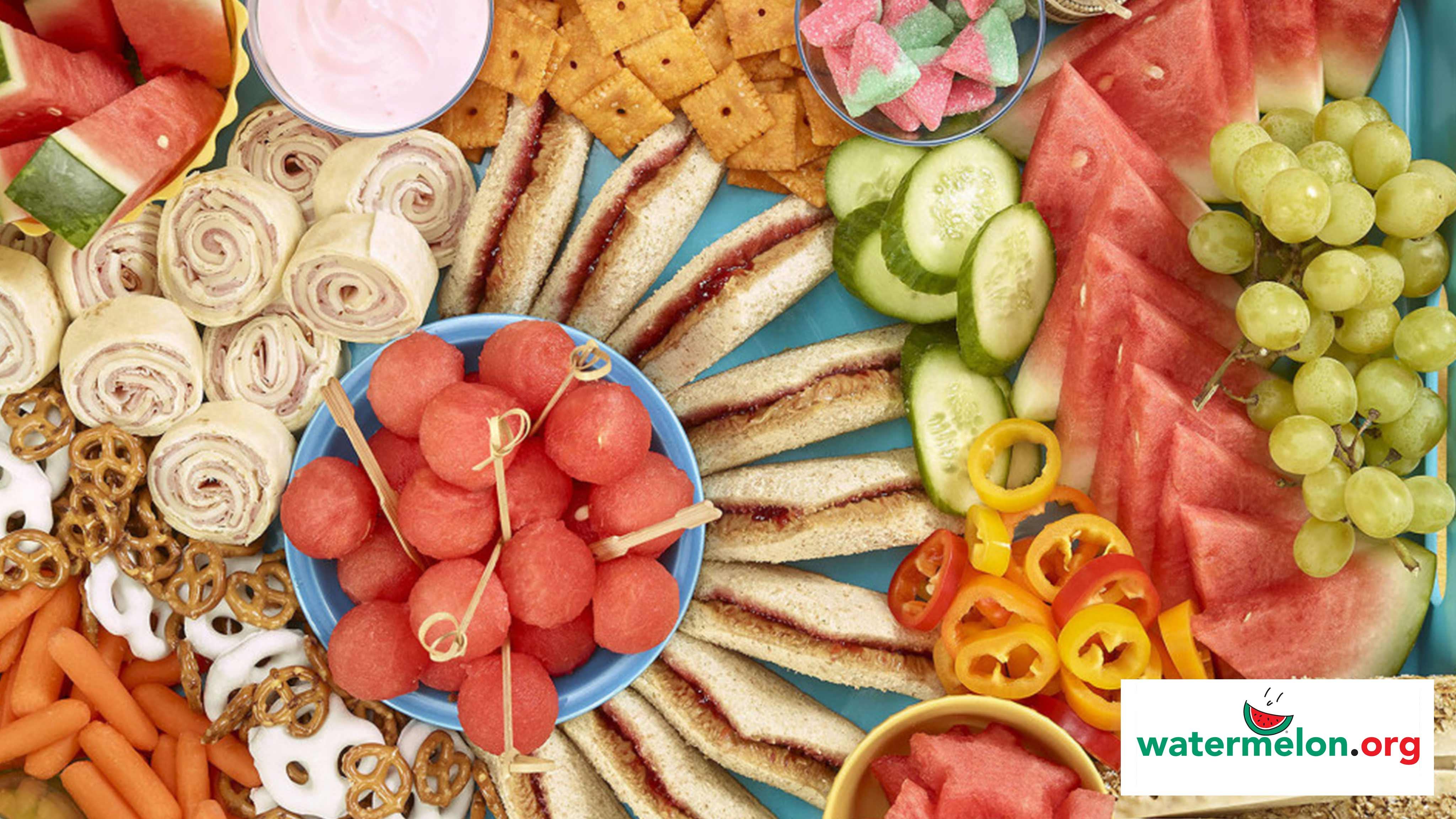 Image for Recipe Kids Charcuterie Snack Board