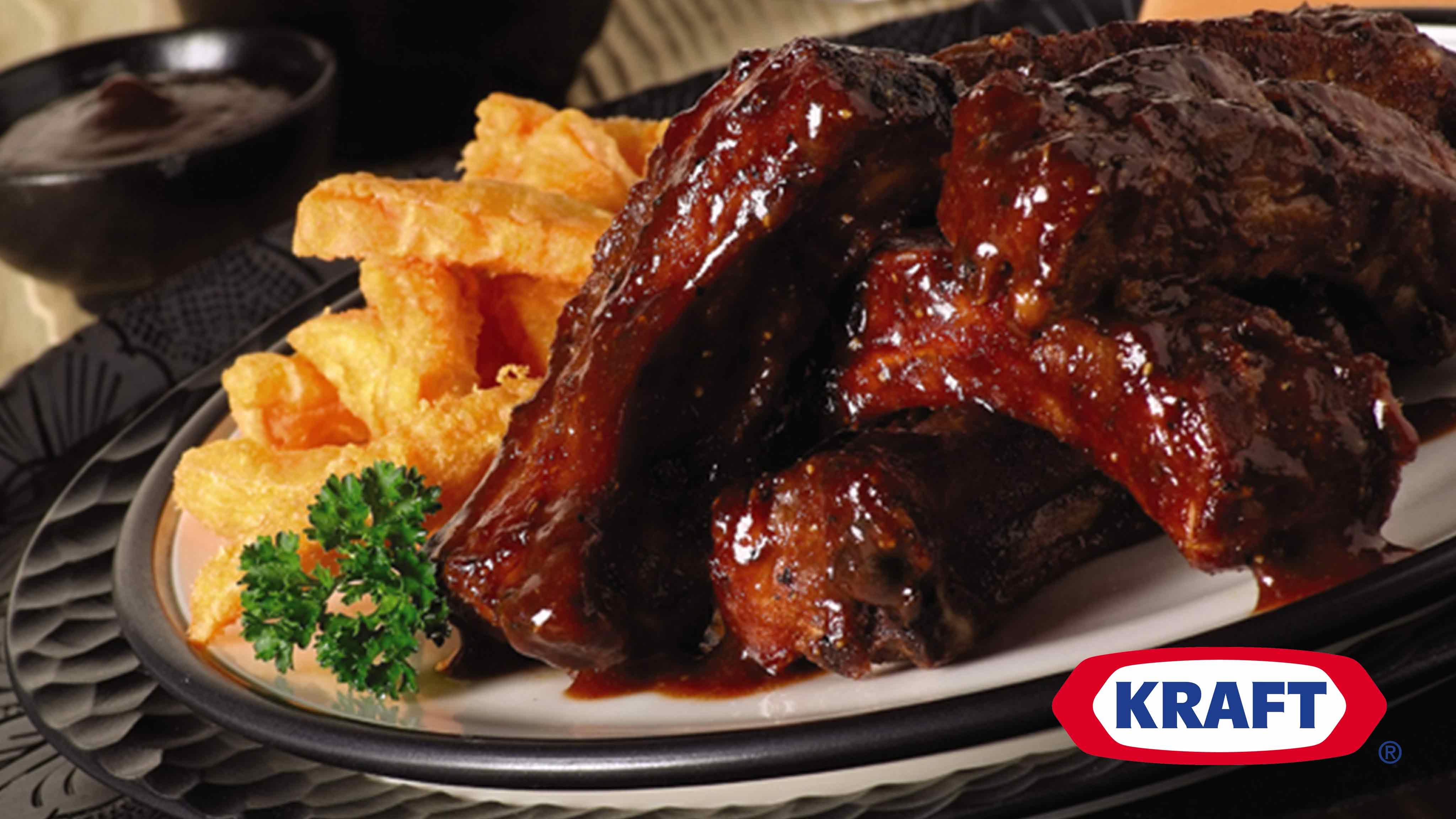 Image for Recipe BBQ Bourbon Ribs