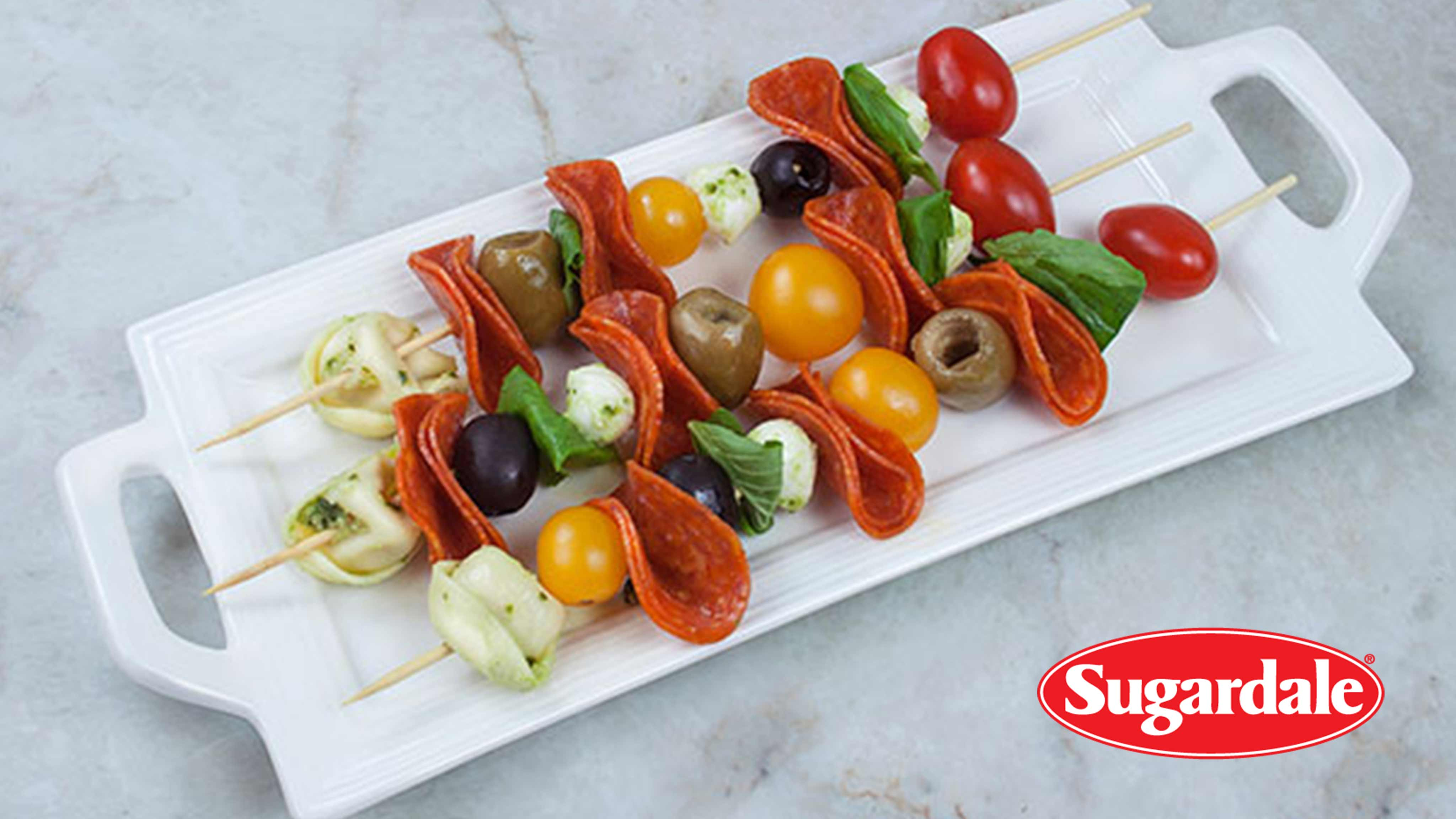 Image for Recipe Antipasto Skewers