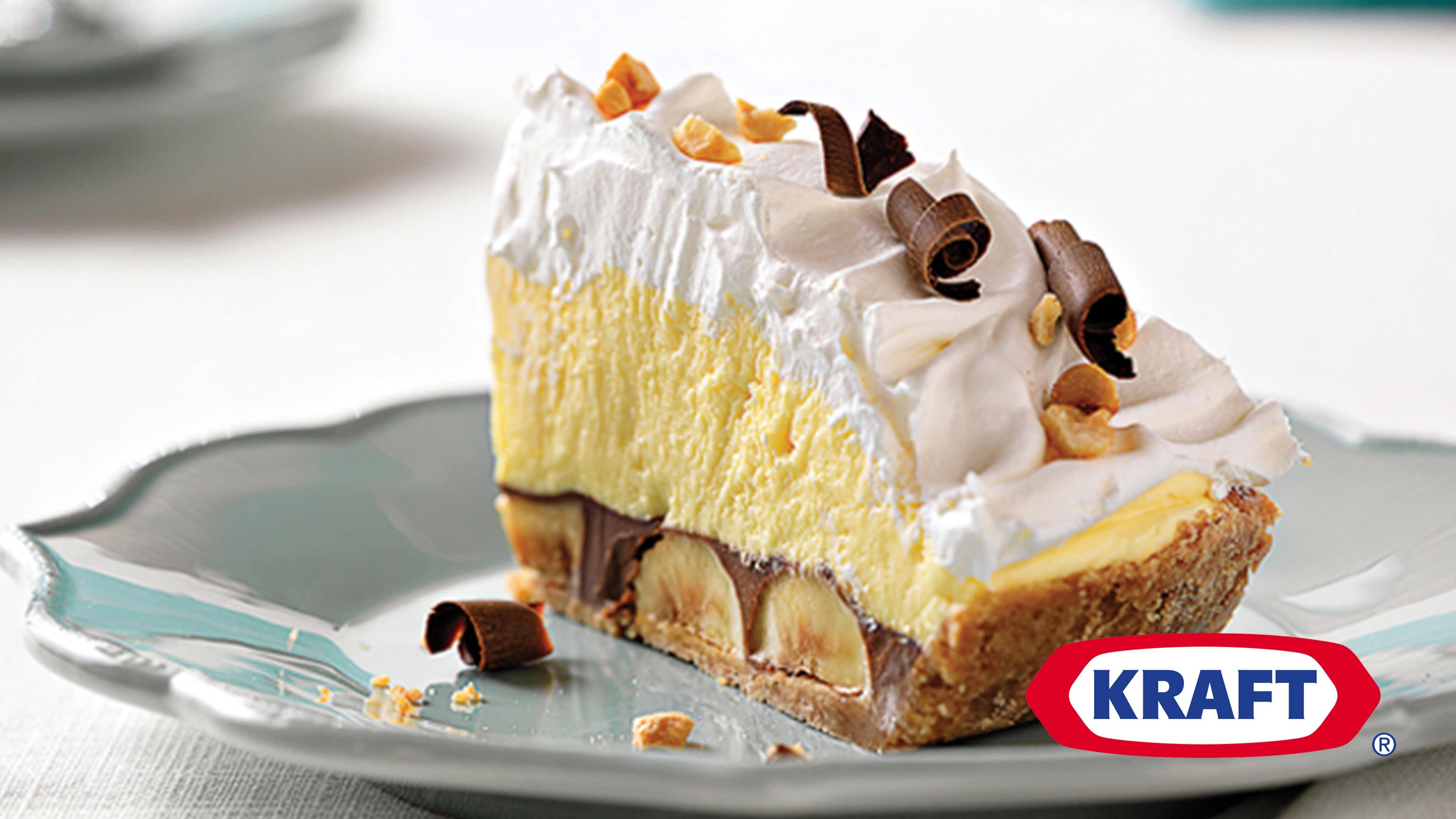 Image for Recipe Peanut Butter Chocolate Banana Cream Pie