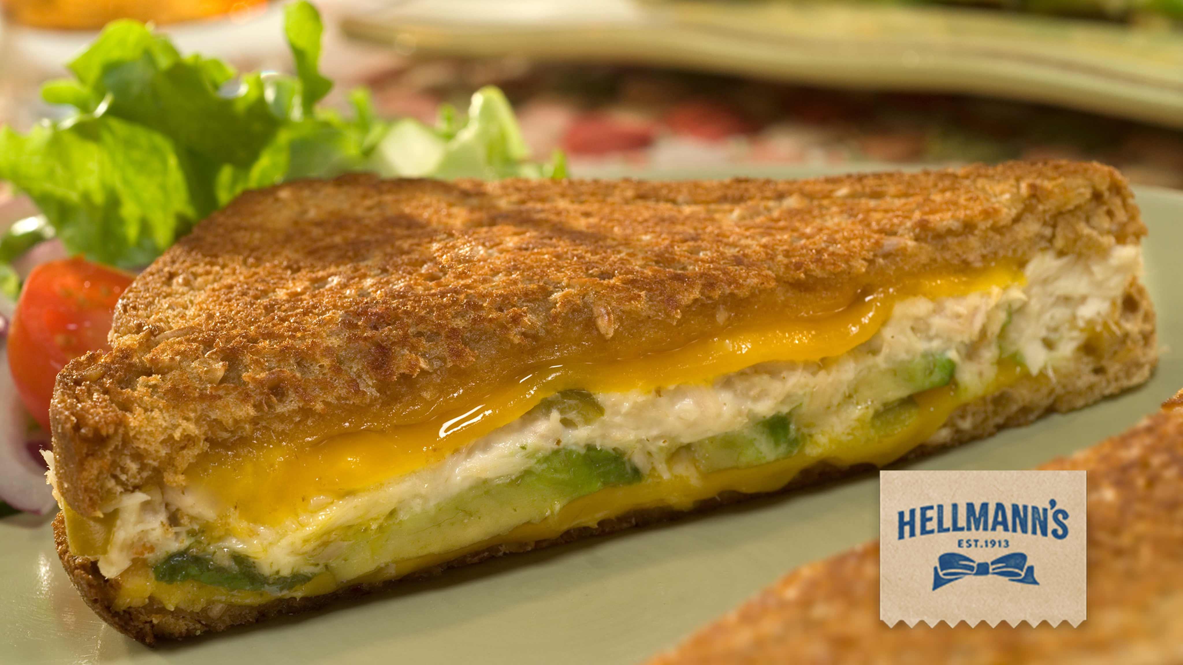 Image for Recipe Avocado Tuna Melts