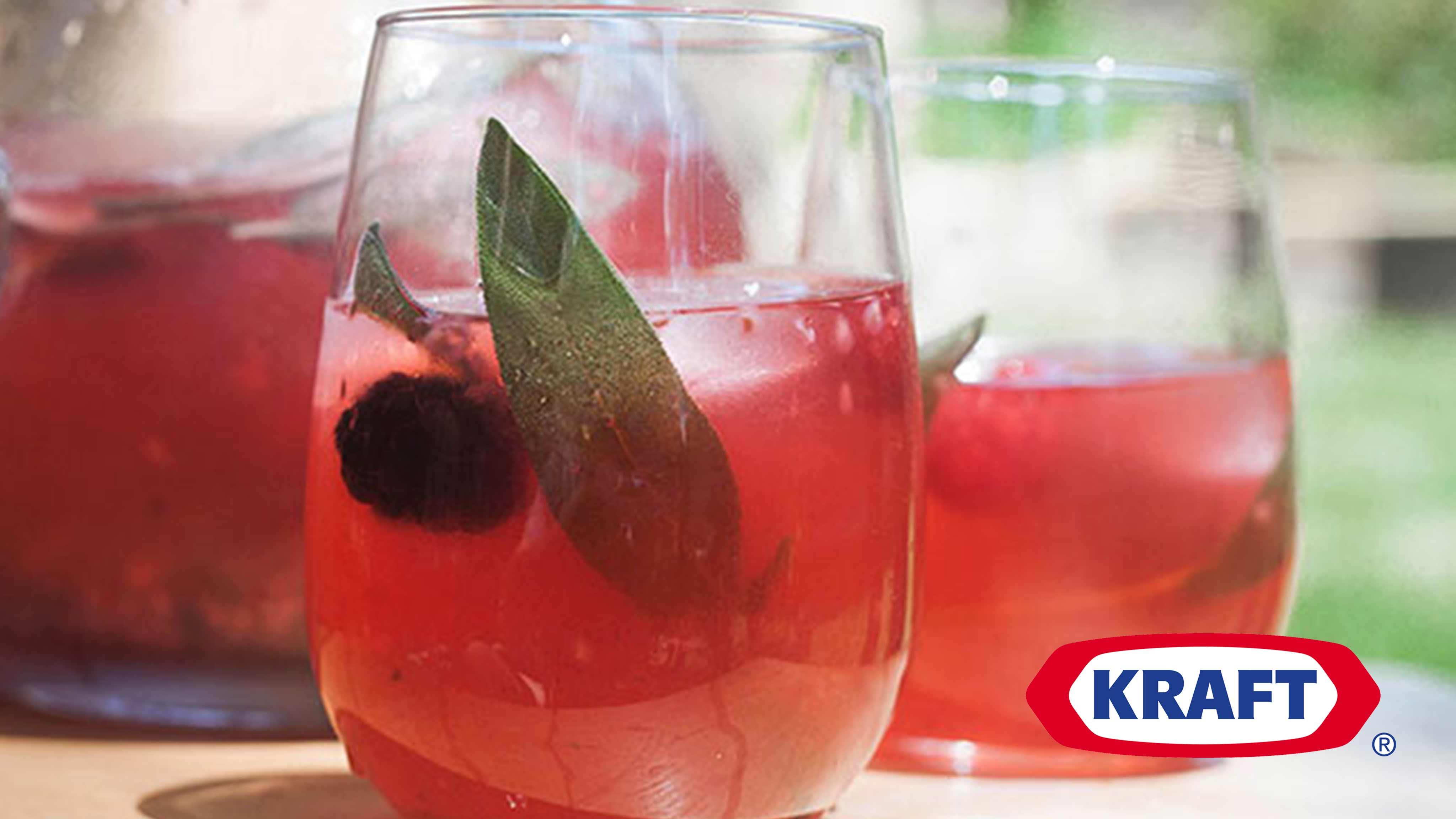 Image for Recipe Double Berry-Sage Lemonade