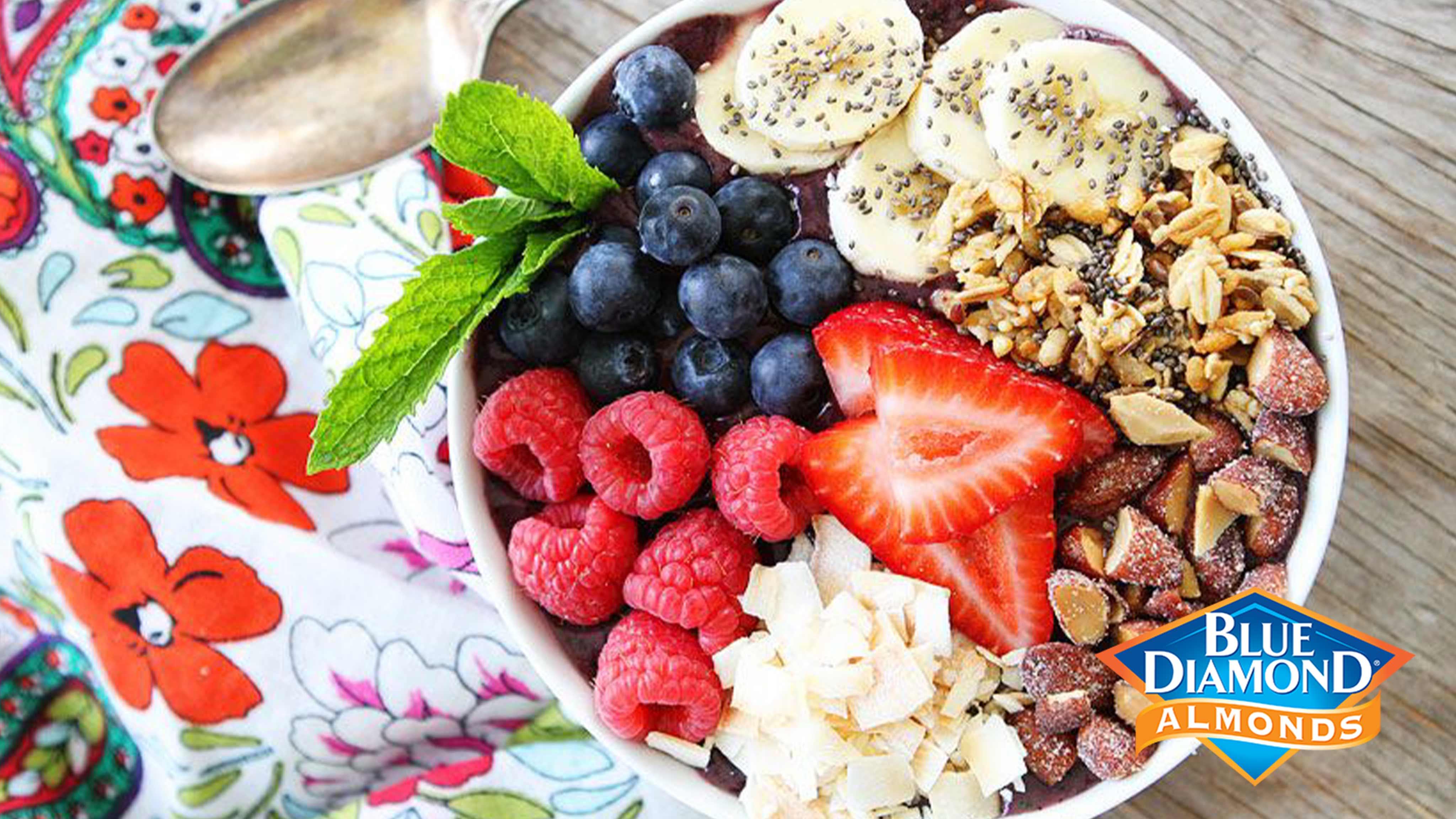 Image for Recipe Berry Banana Smoothie Bowl