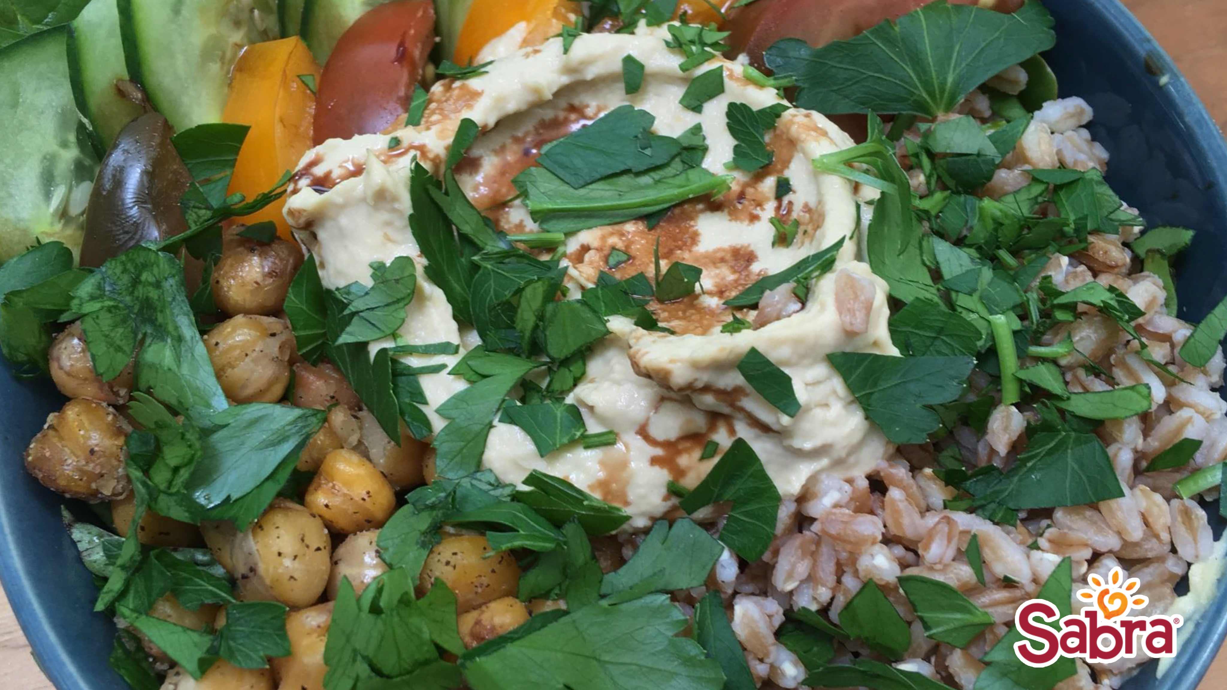Image for Recipe Hummus Buddah Bowl
