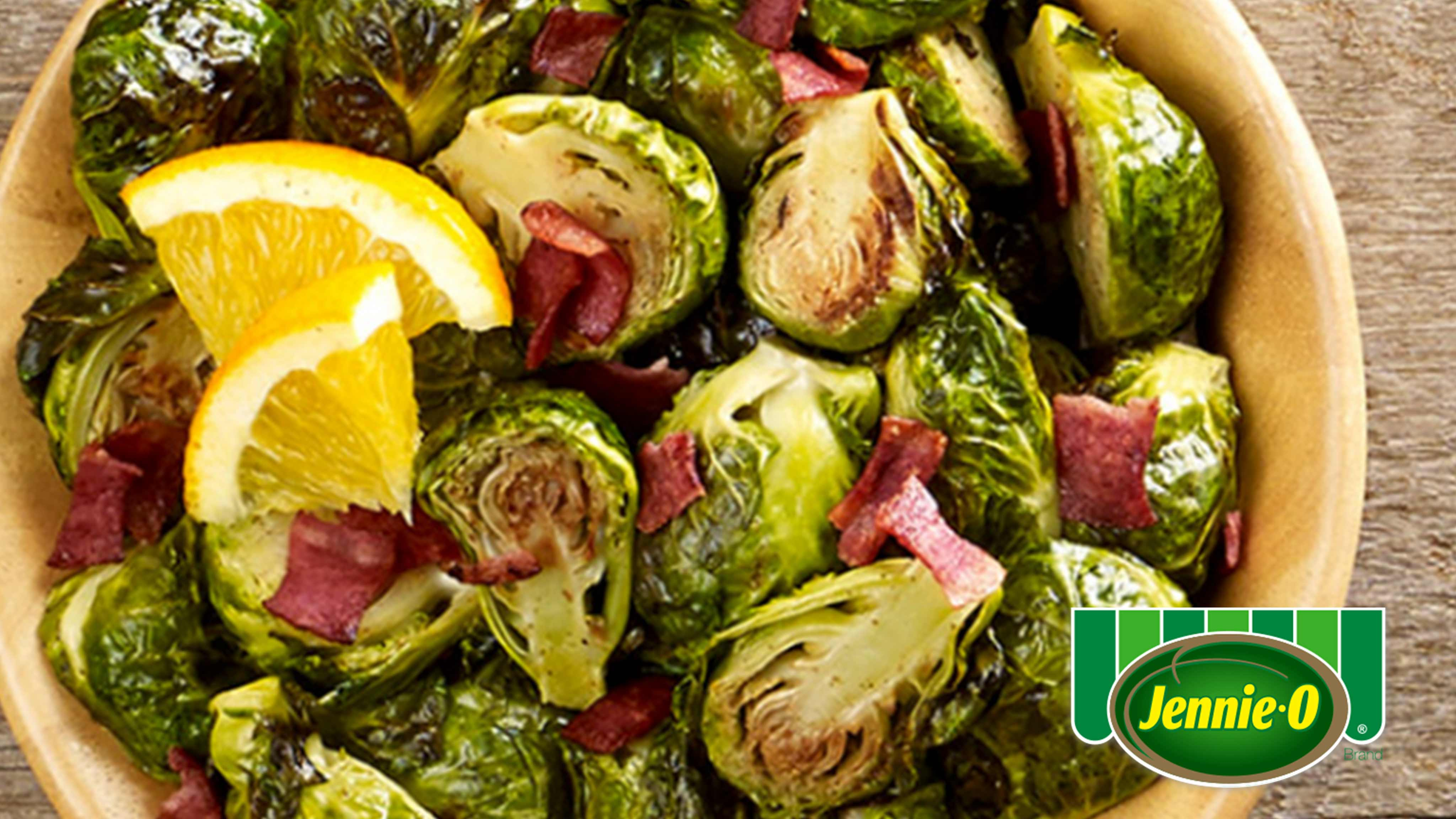 Image for Recipe Roasted Honey and Bacon Brussels Sprouts