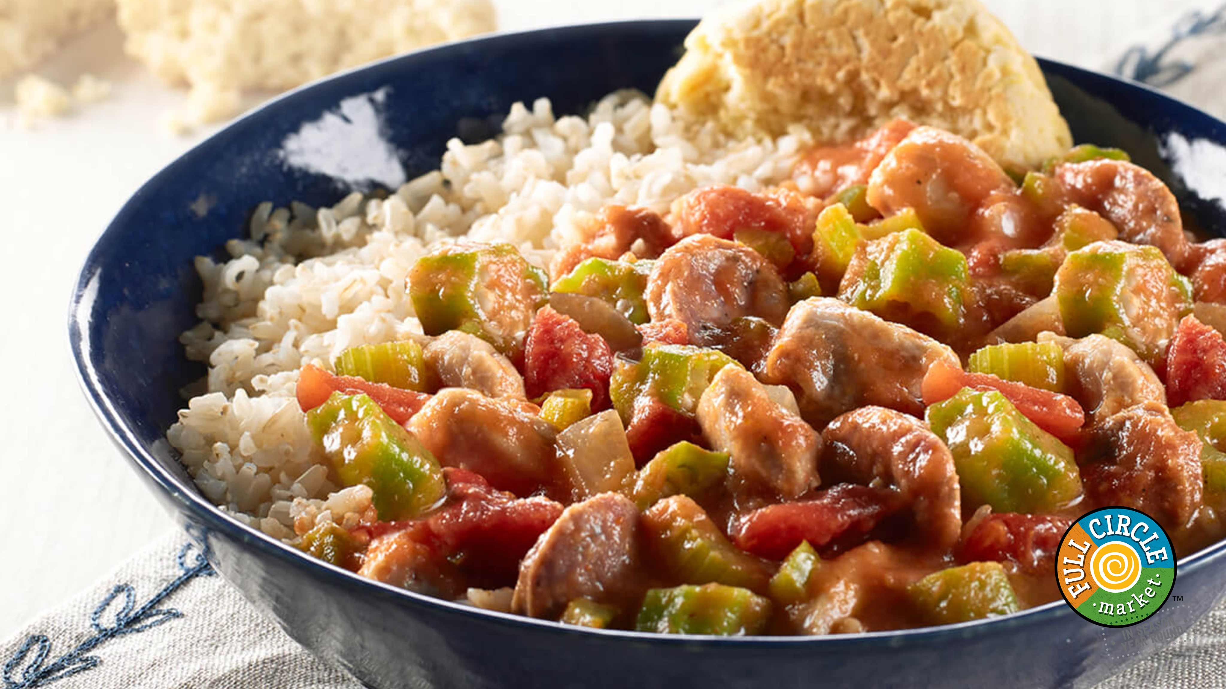 Image for Recipe Chicken and Andouille Gumbo Creole