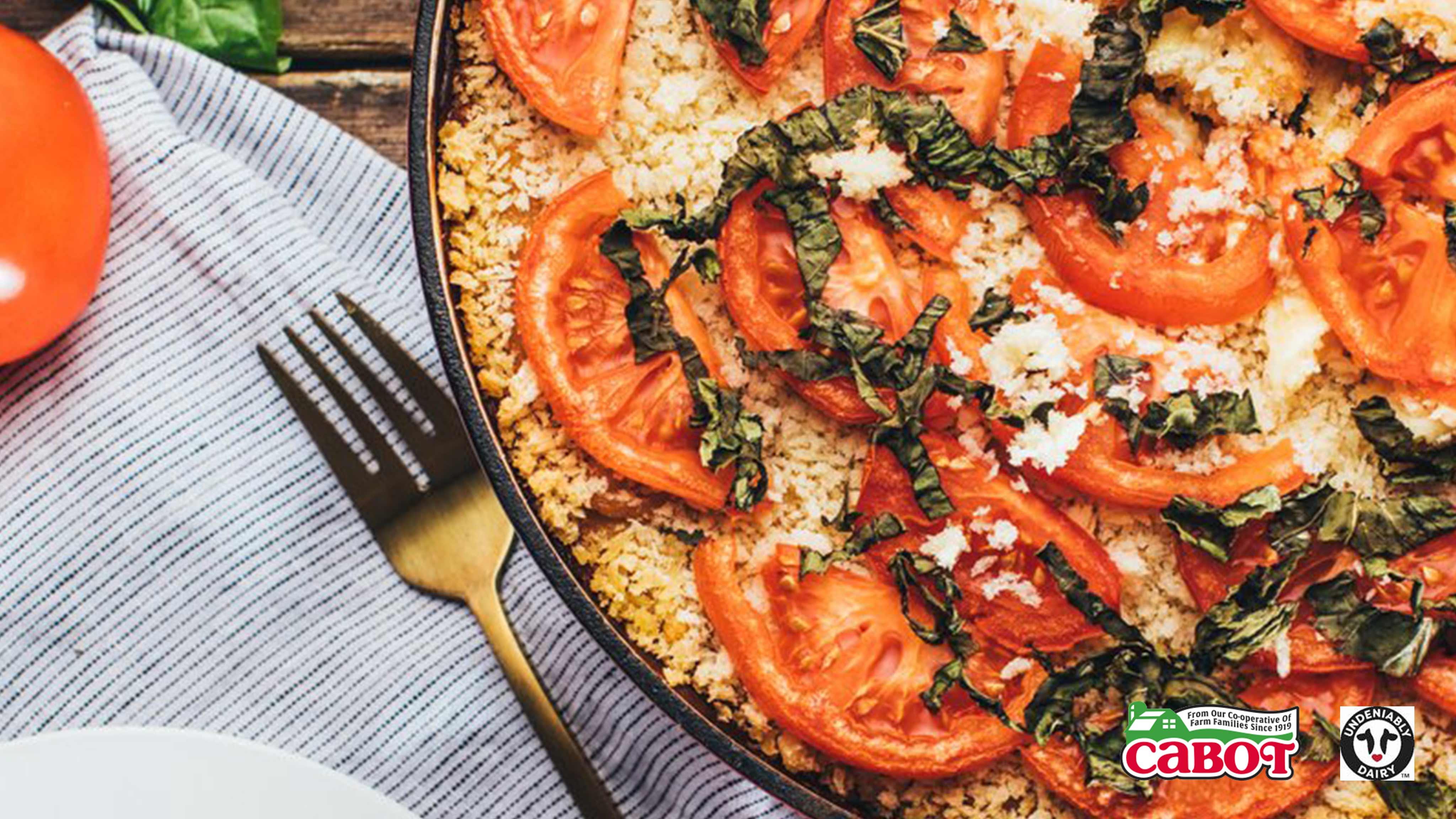 Image for Recipe Big Dish Tomato Basil Mac and Cheese