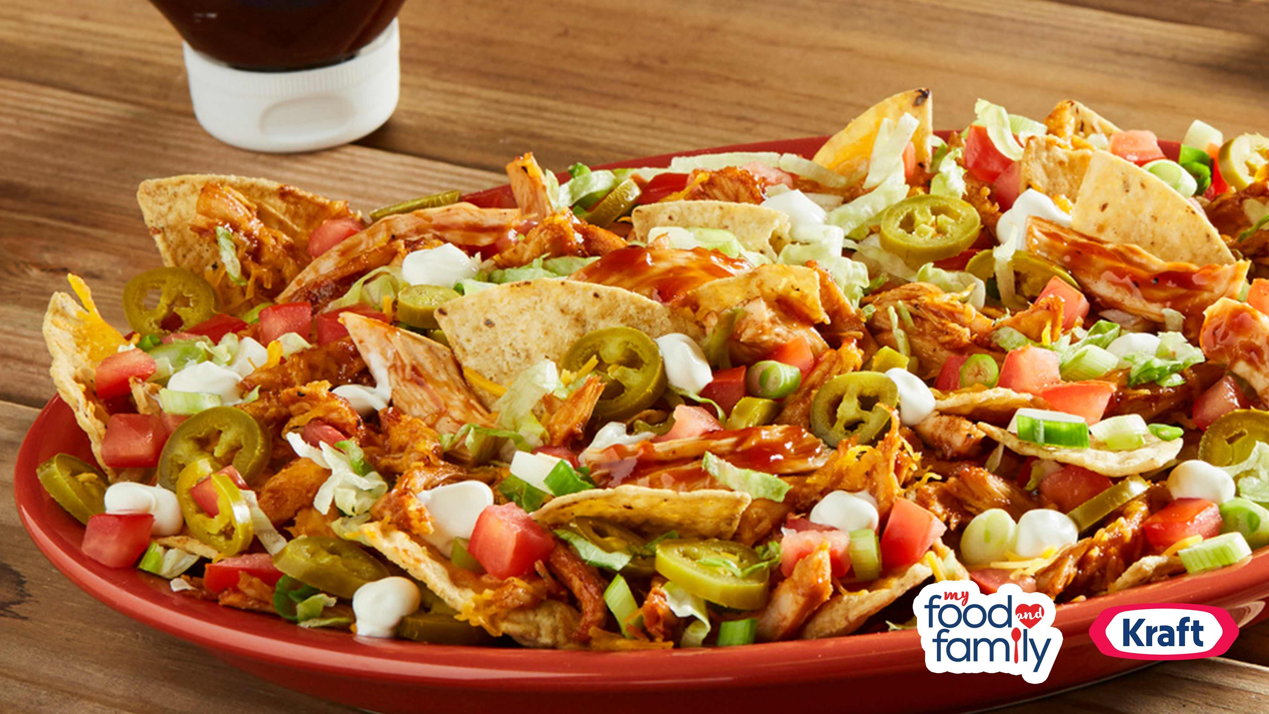 Image for Recipe BBQ Chicken Nachos