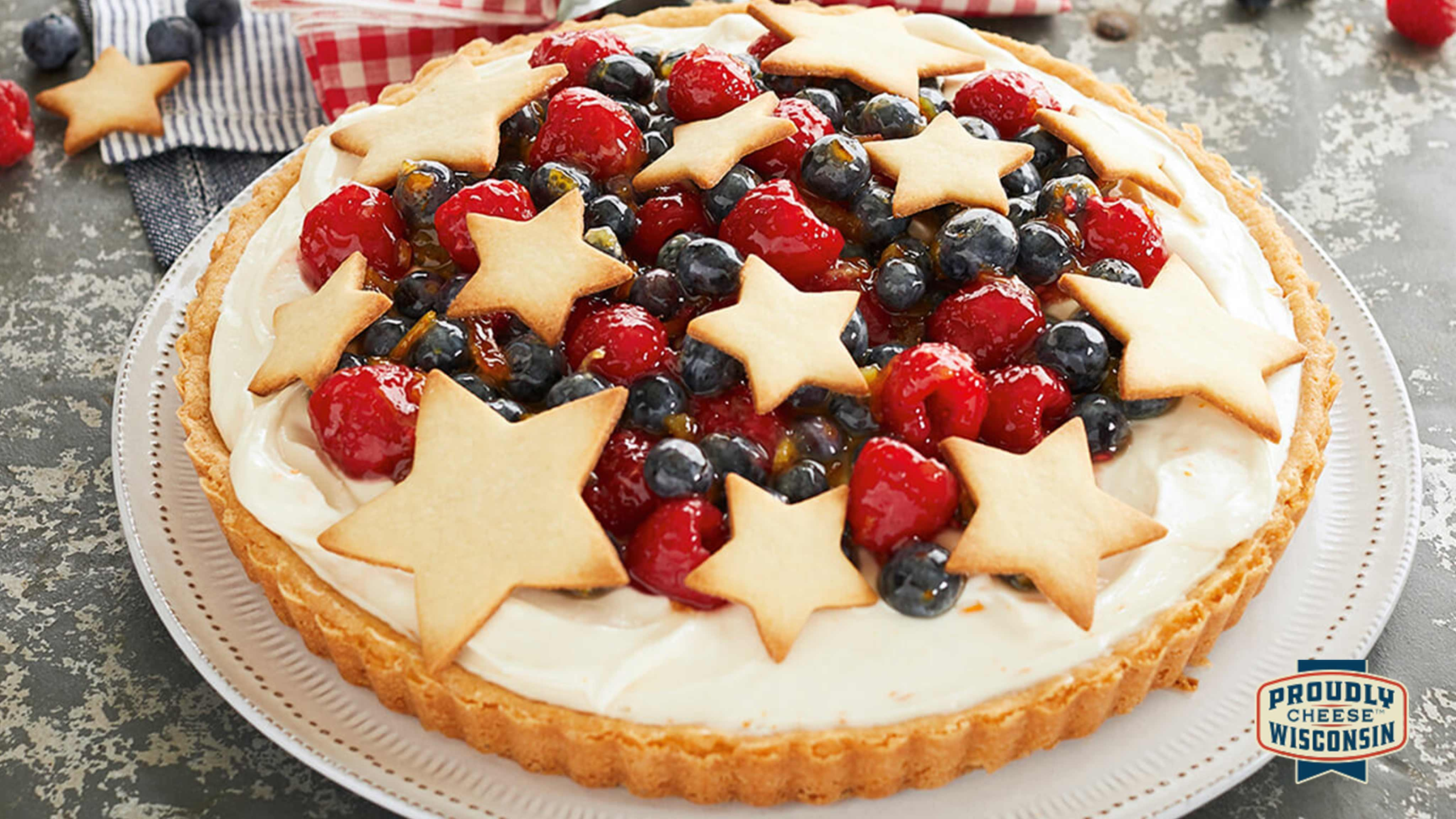 Image for Recipe Berry Ricotta Tart