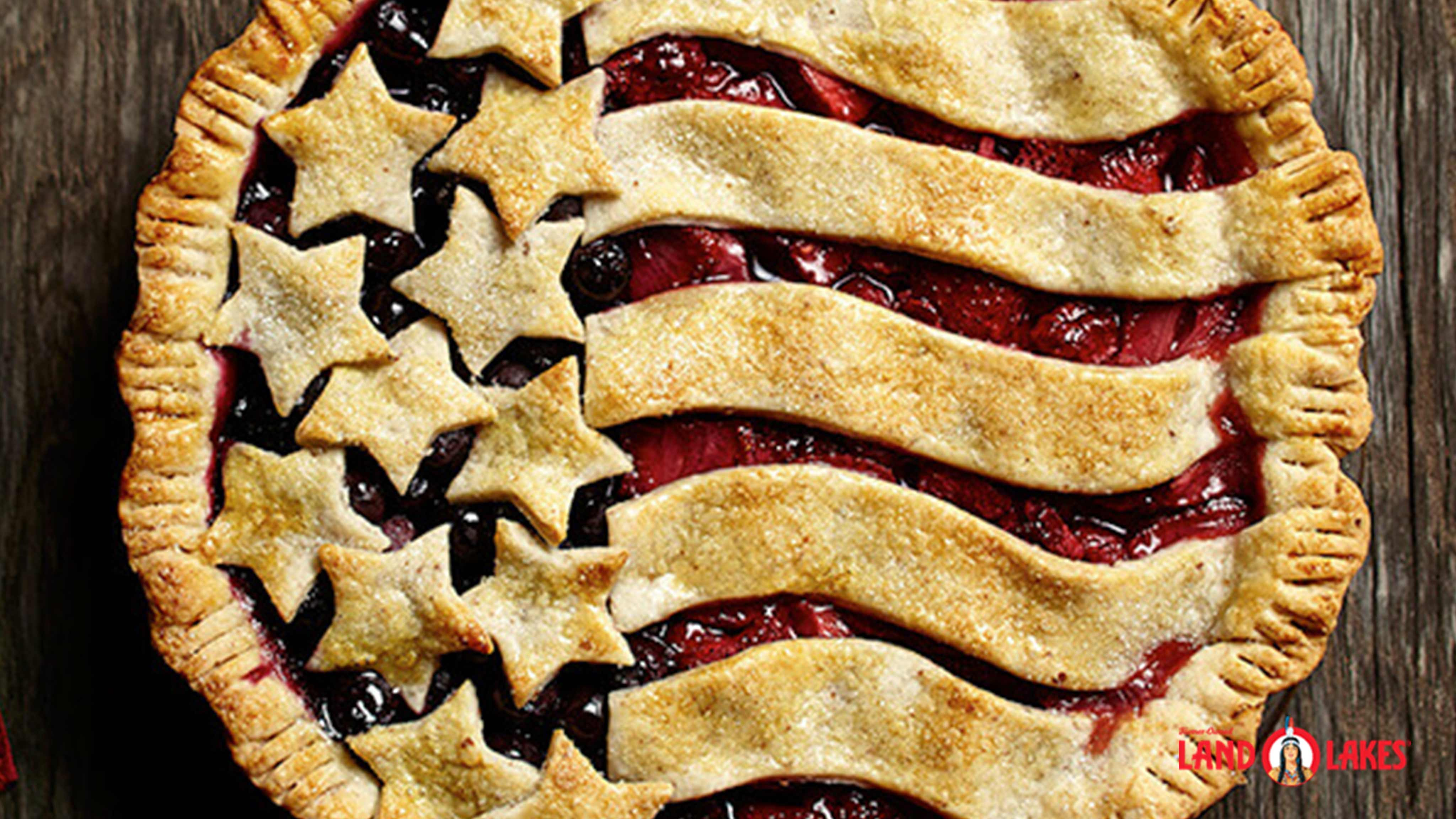 Image for Recipe American Berry Pie