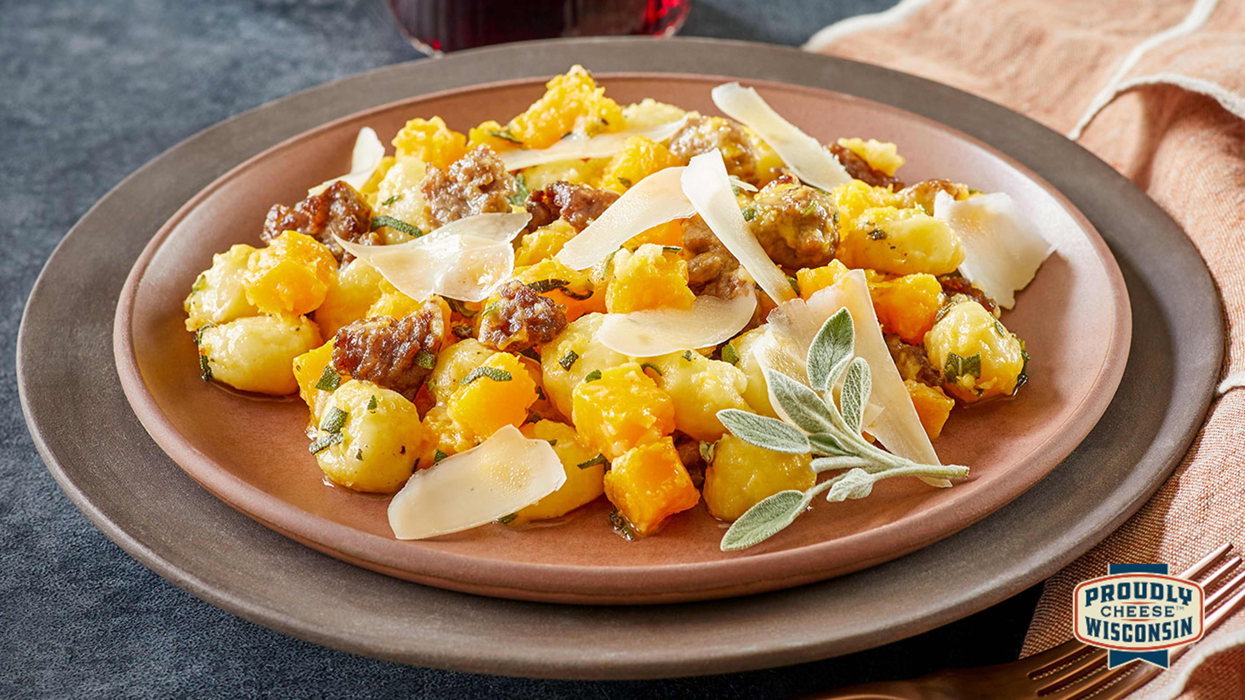Image for Recipe Brown Butter Gnocchi with Asiago