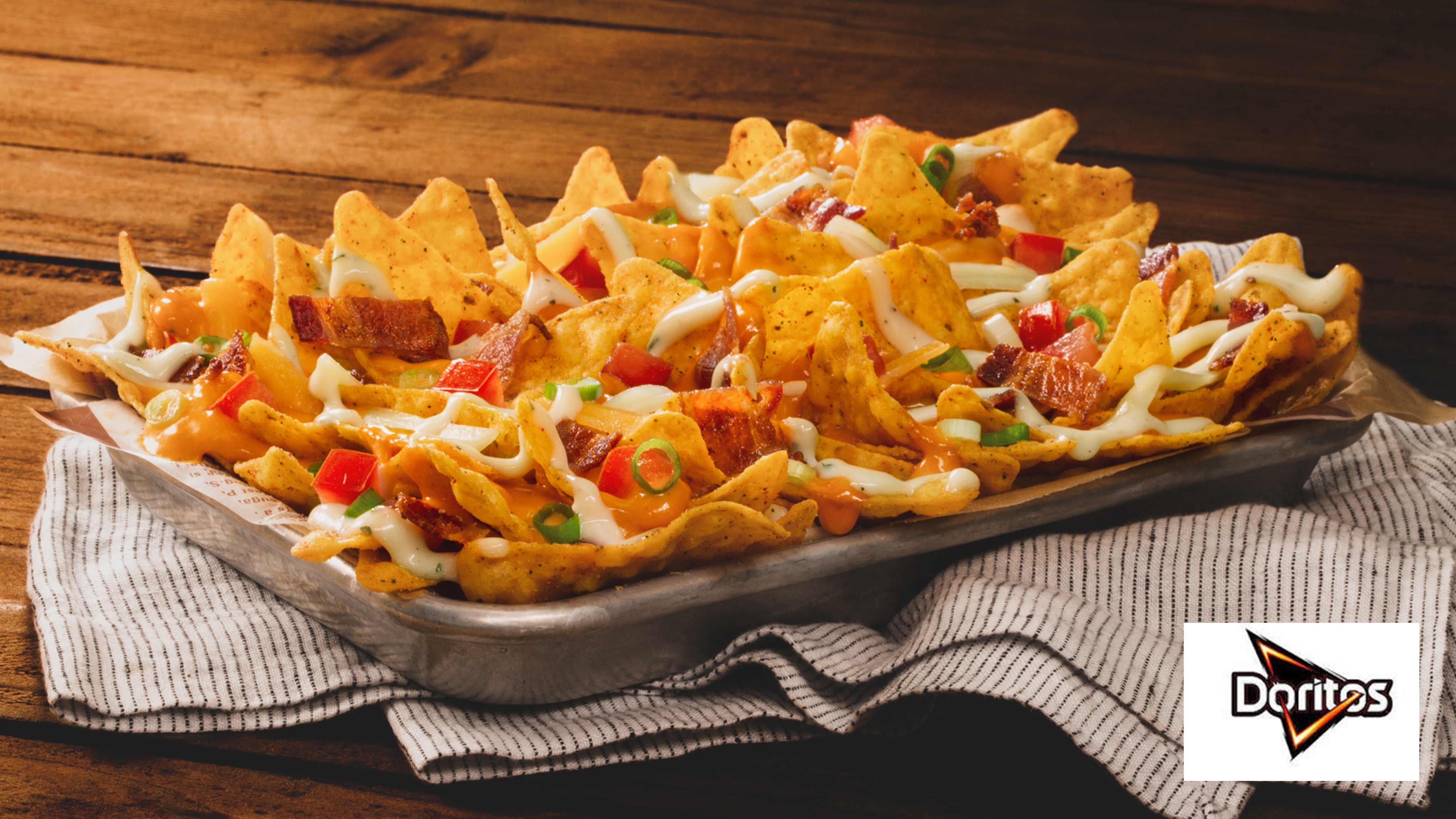 Image for Recipe DORITOS COOL RANCH Bacon Nachos