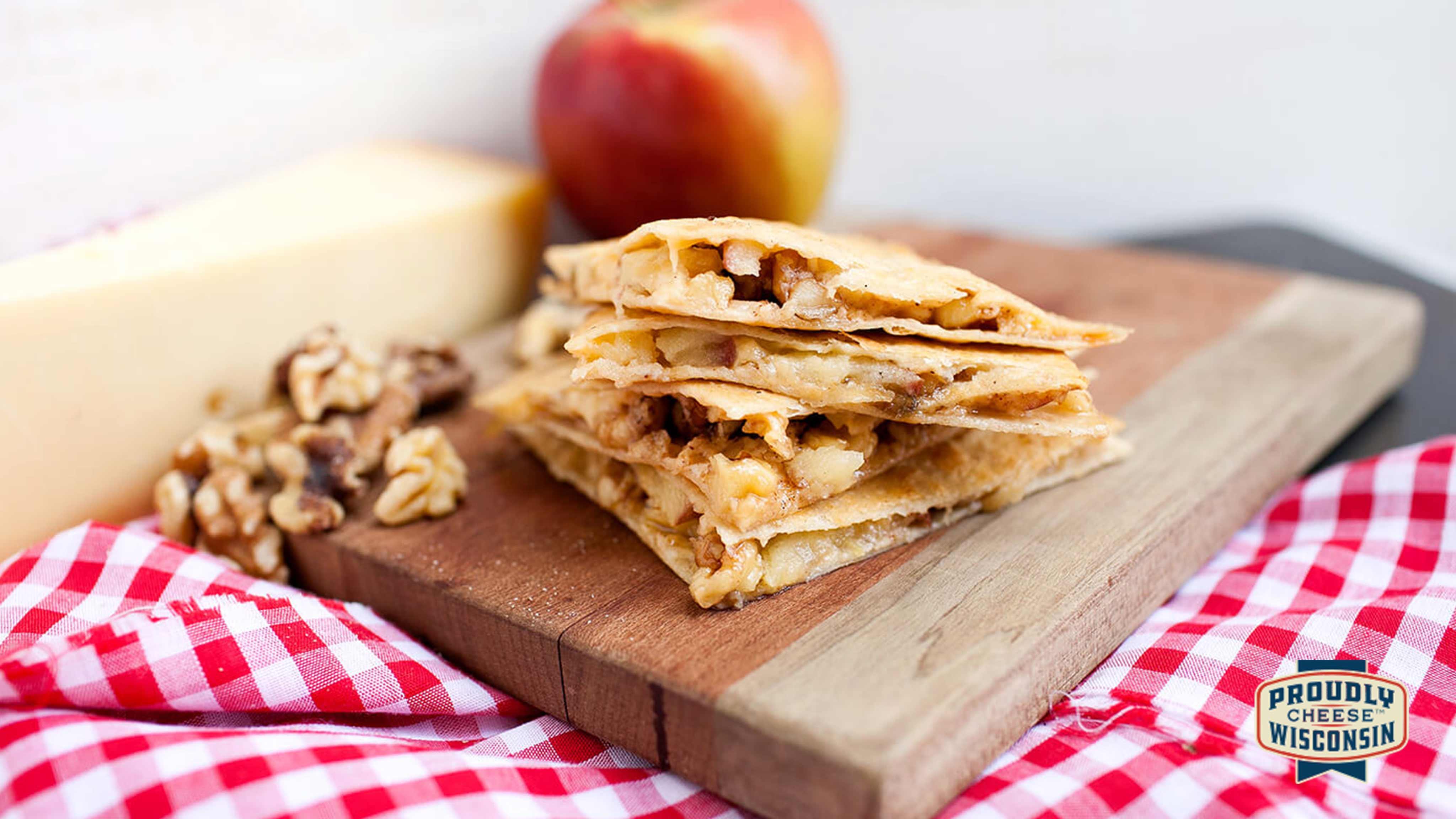 Image for Recipe Autumn Gouda and Apple Quesadilla