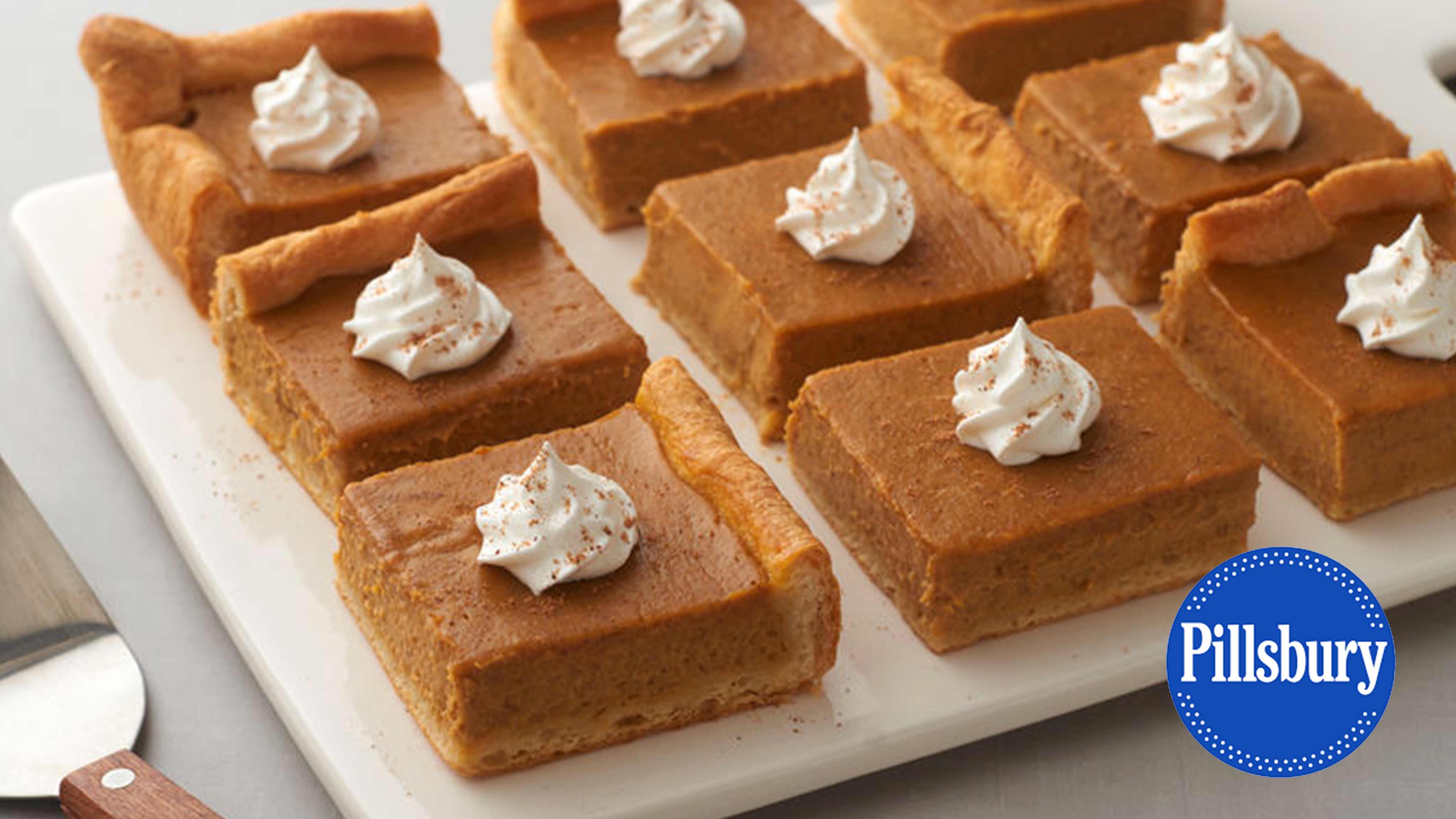 Image for Recipe Pumpkin Pie Bars