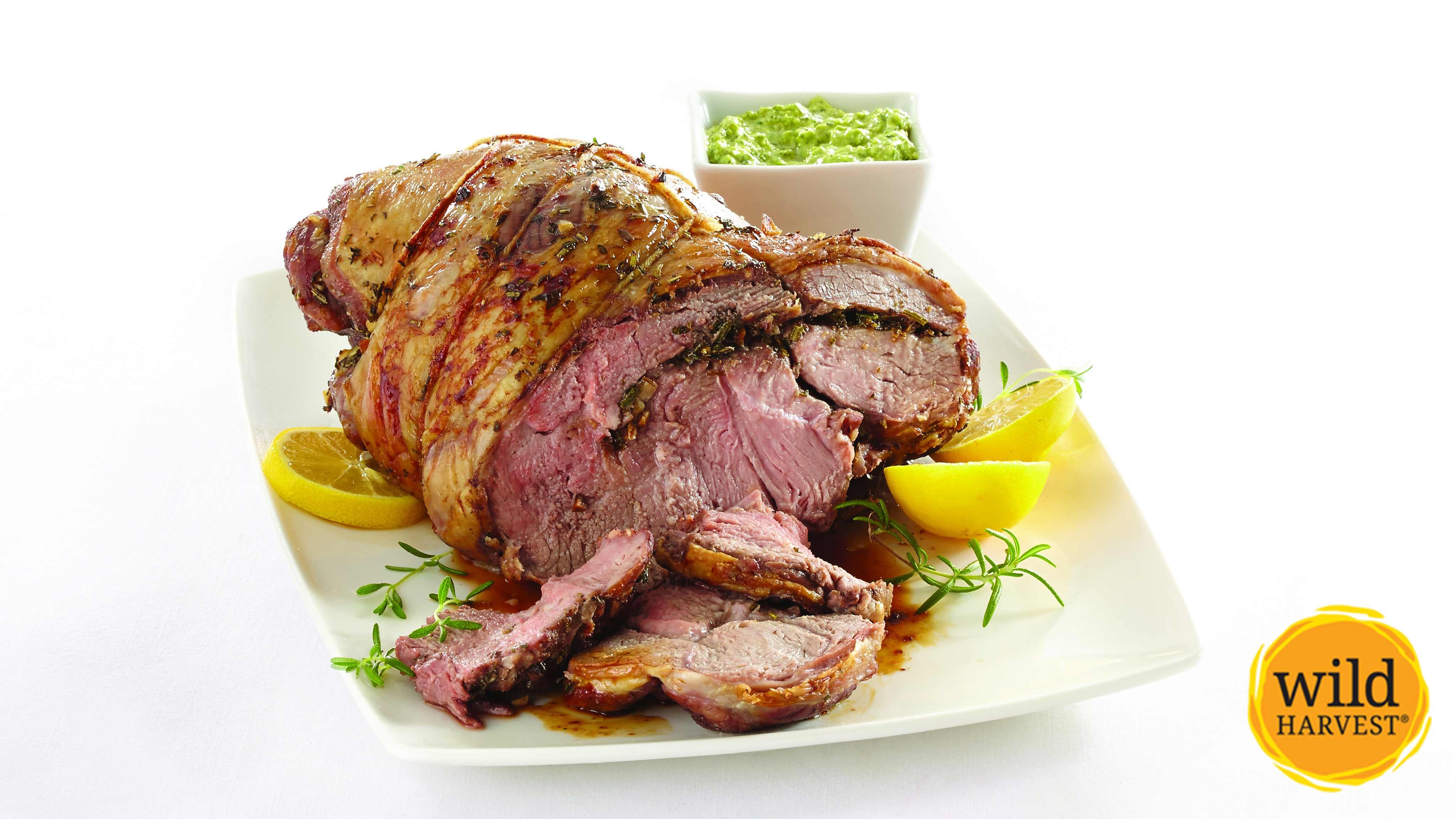 Image for Recipe Roasted Leg of Lamb
