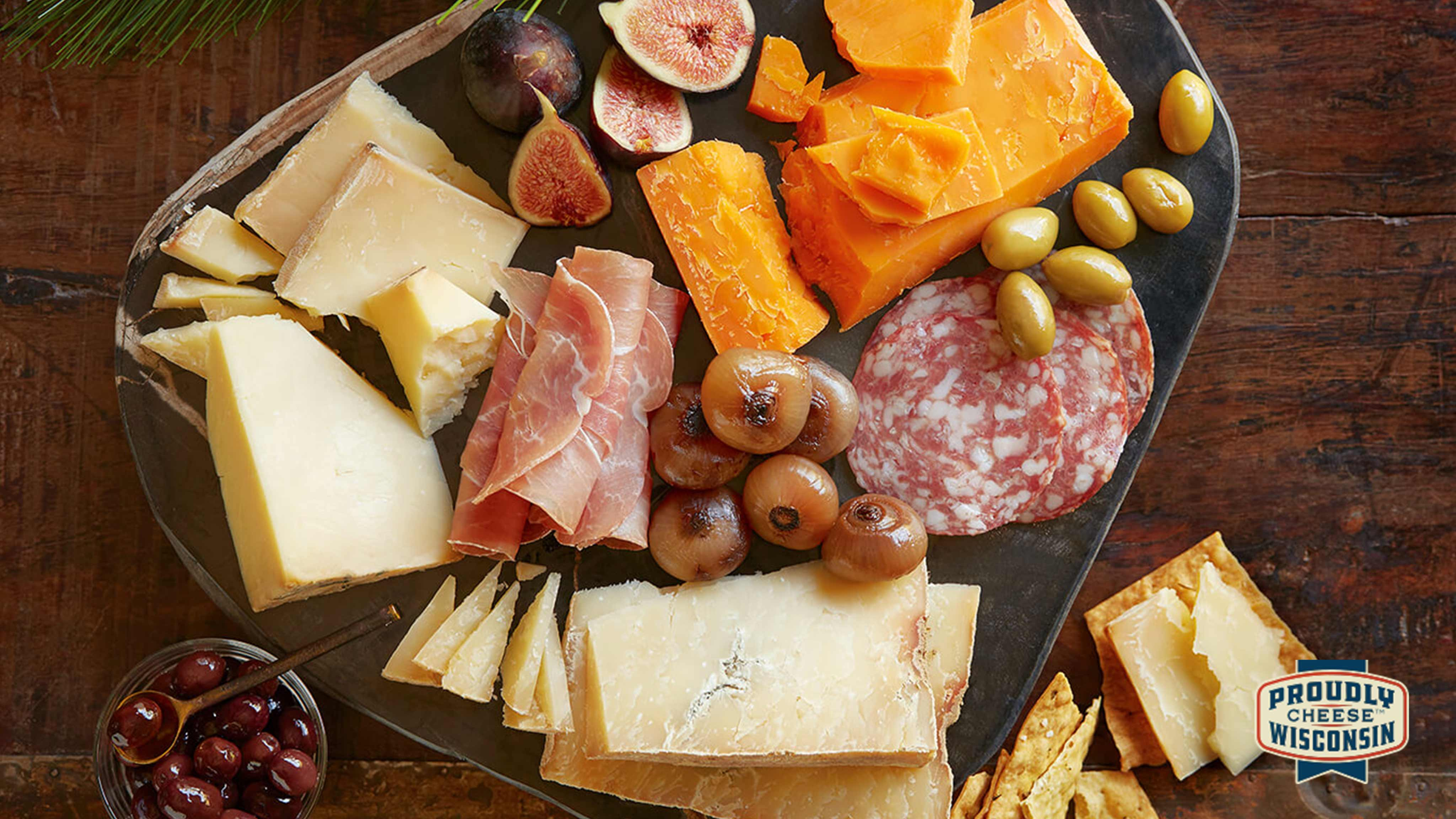 Image for Recipe Artisan Cheddar Cheese Board