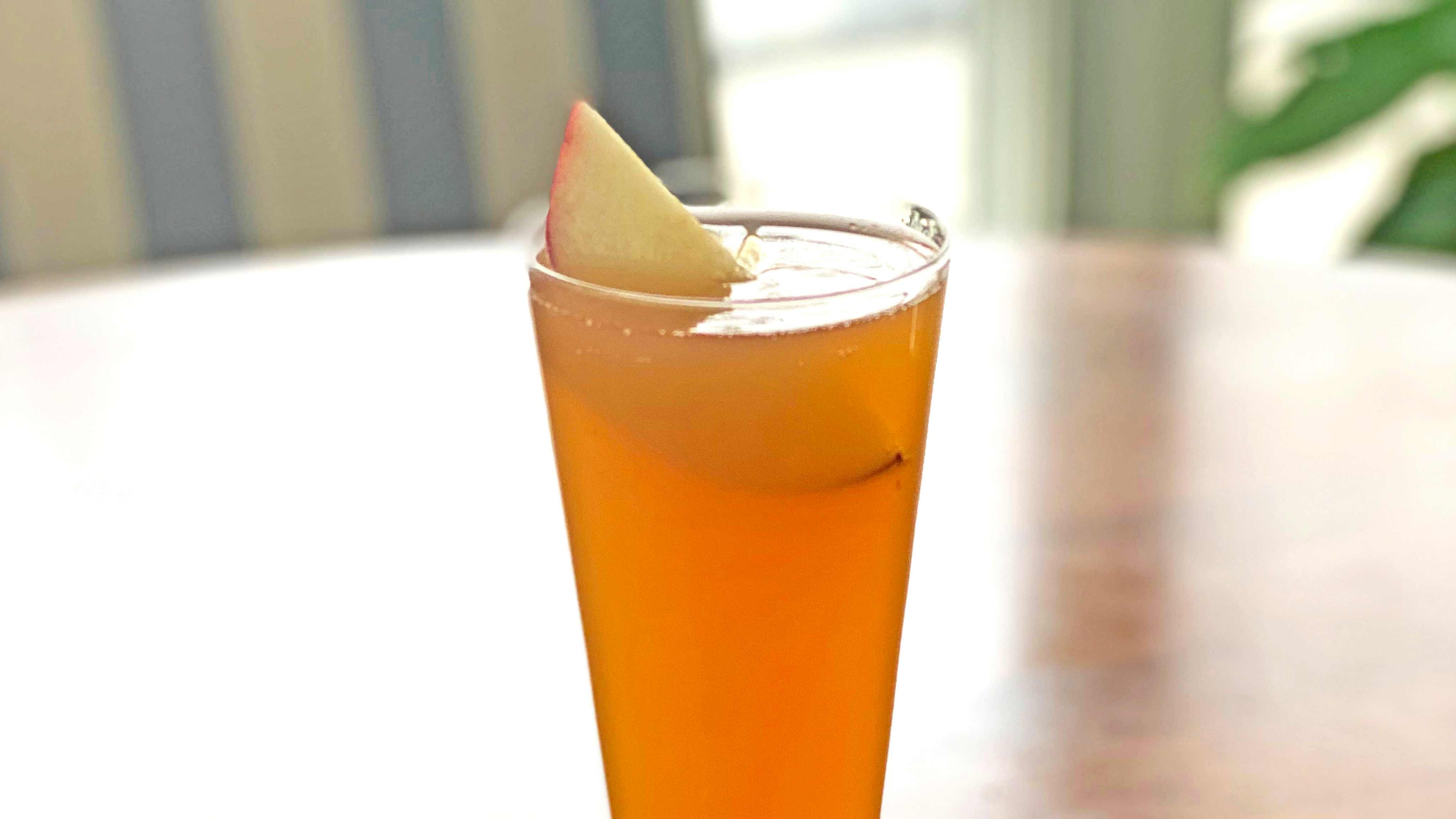 Image for Recipe Apple Cider Mimosa