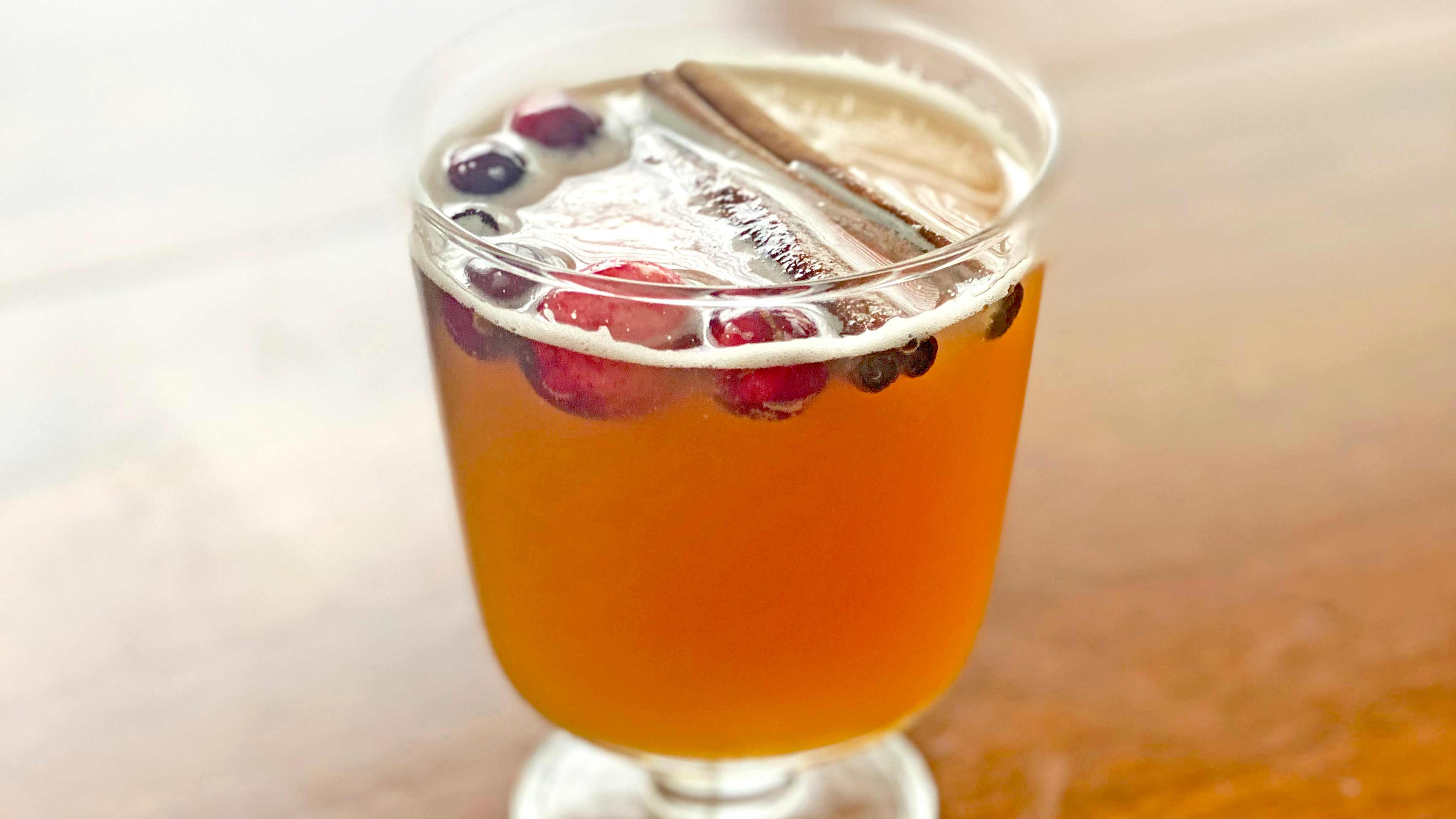 Image for Recipe Fall Beer Cocktail