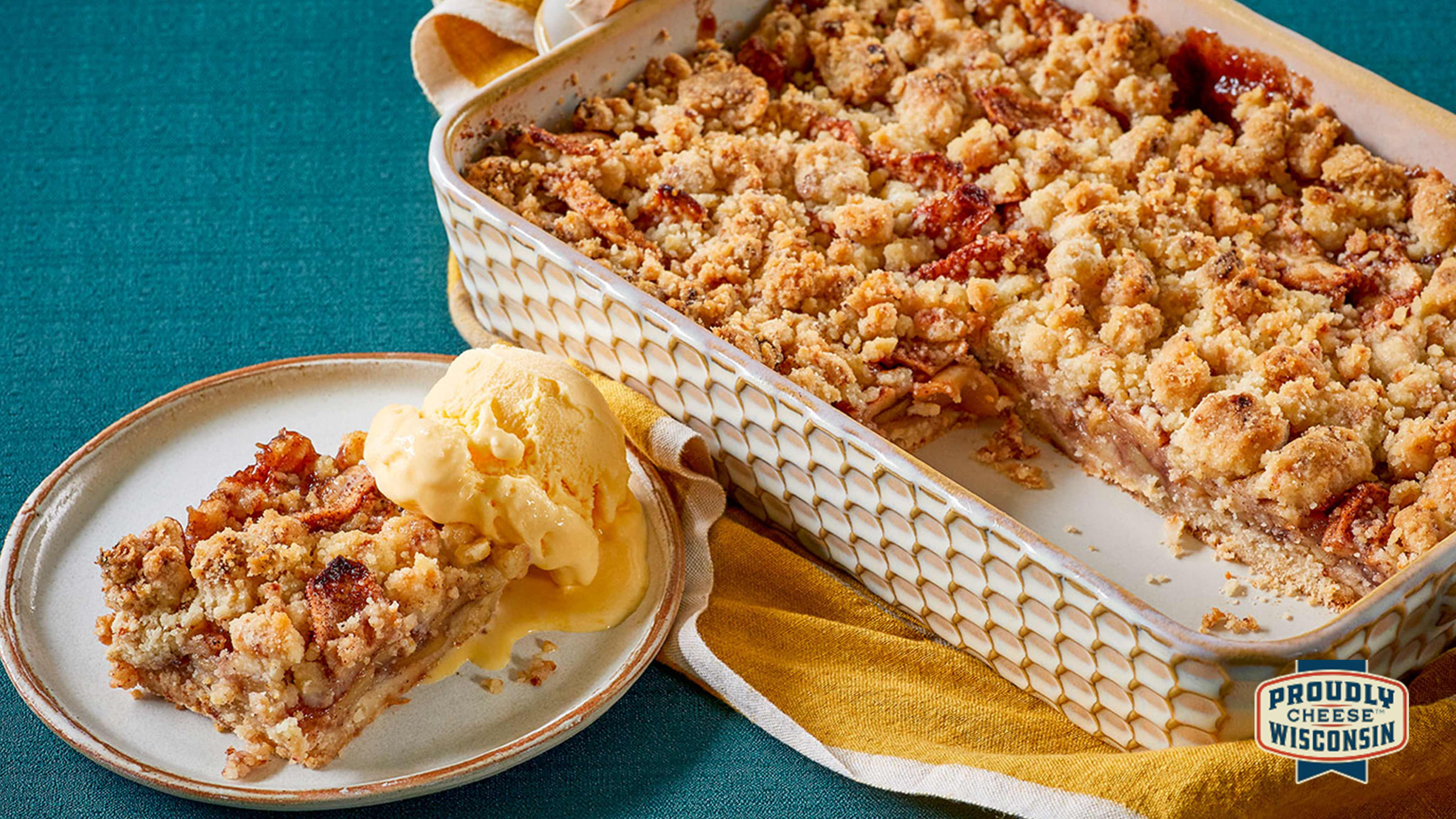 Image for Recipe Cheddar Apple Pie Bars