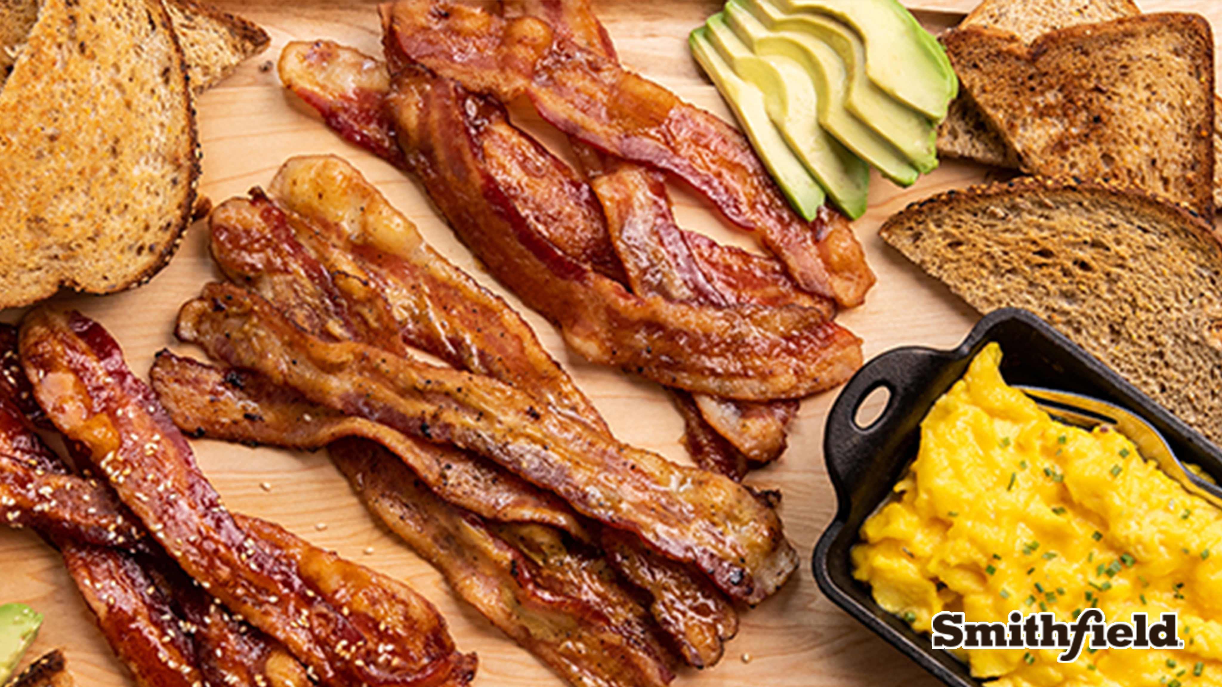 Image for Recipe Bacon Breakfast Board