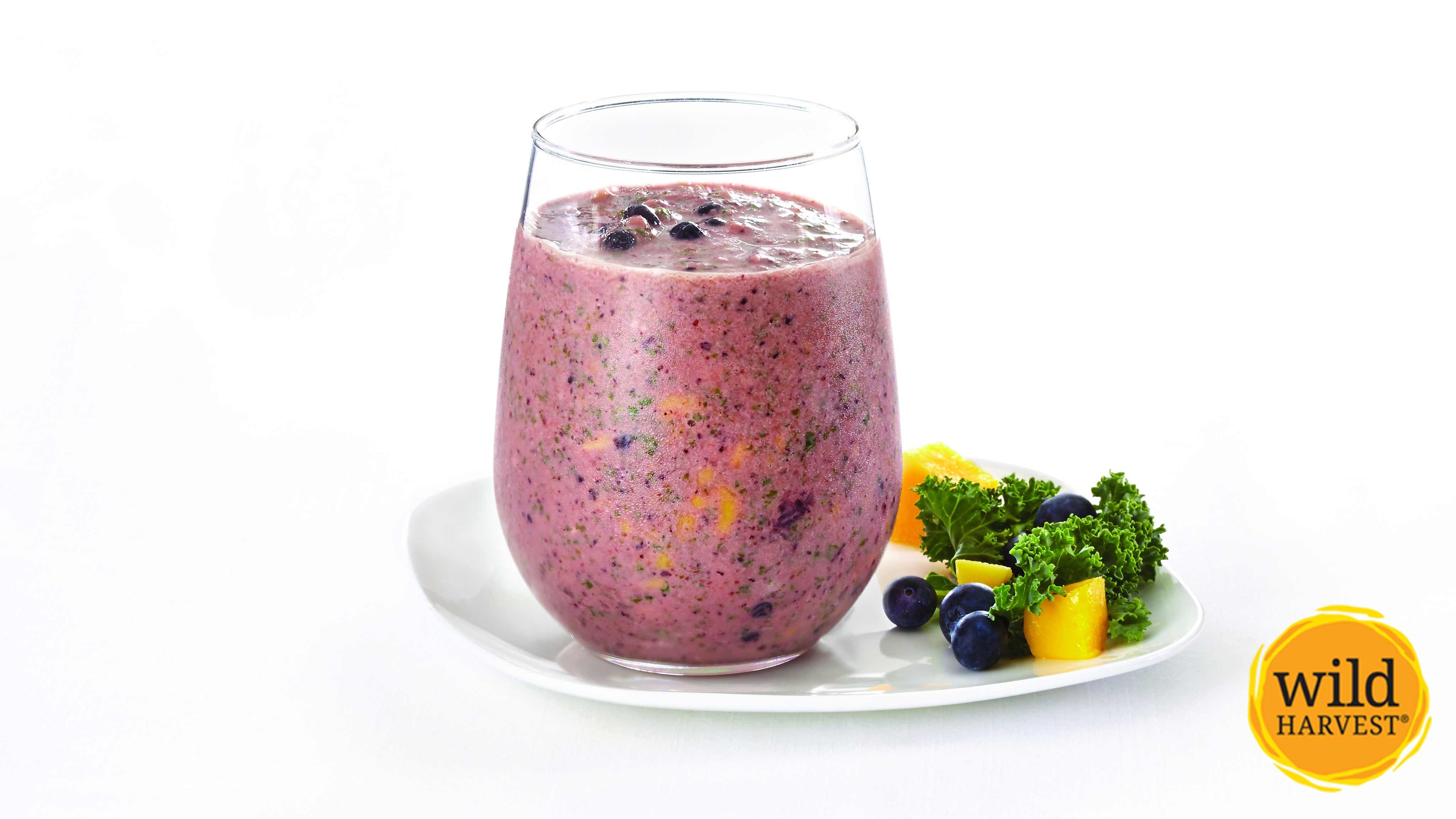 Image for Recipe Mango and Blueberry Smoothie