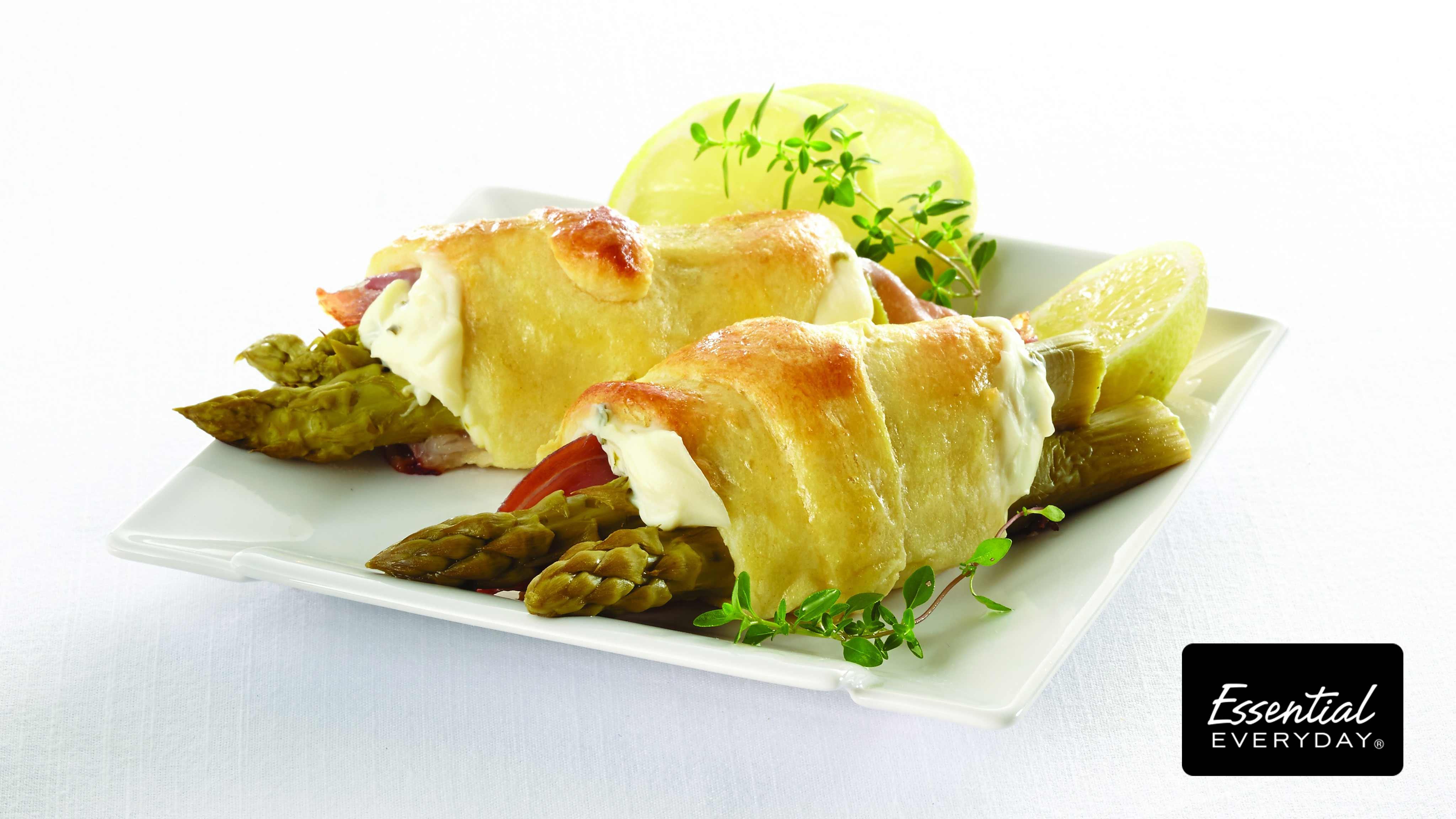 Image for Recipe Asparagus and Prosciutto Crescents