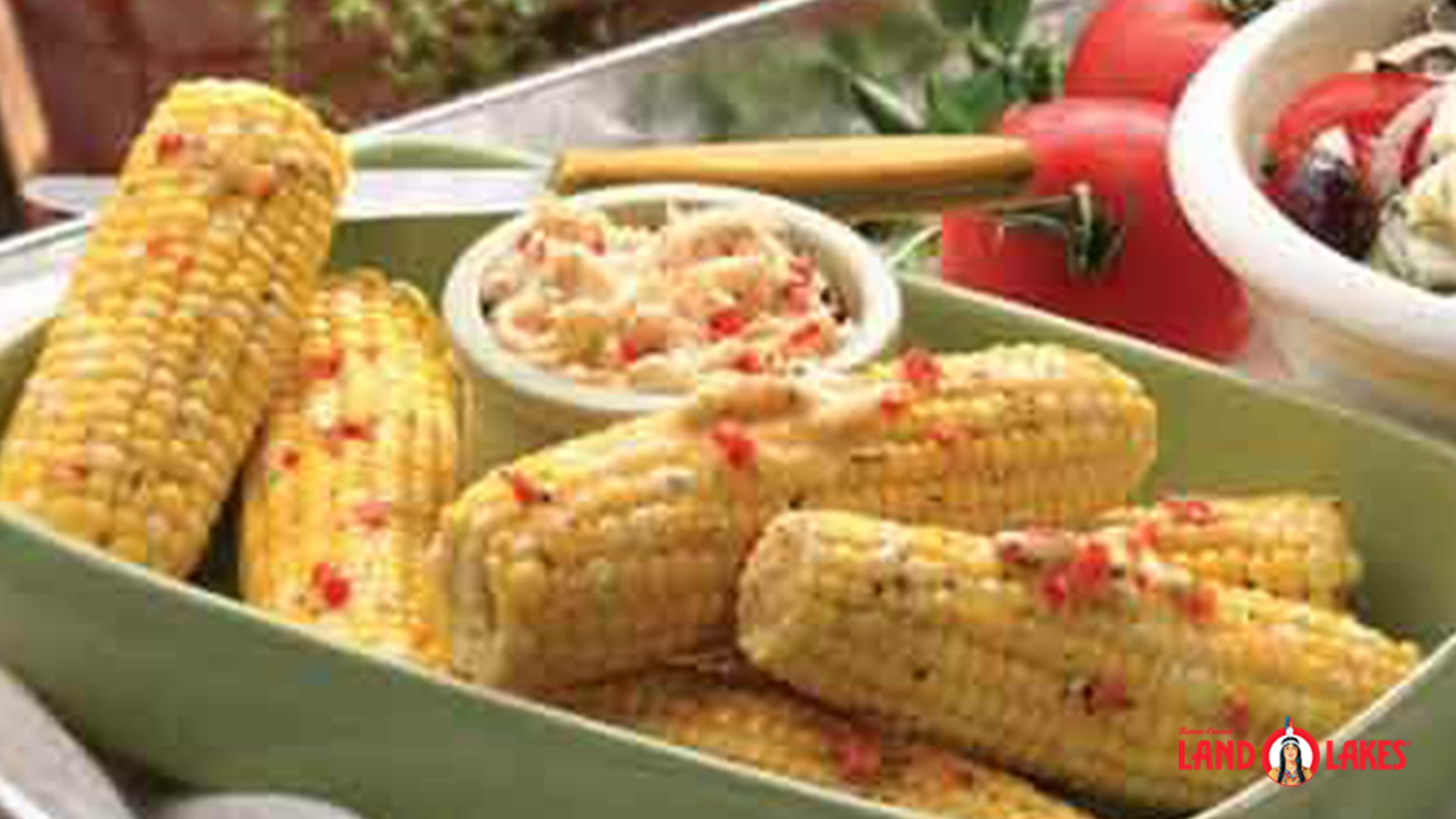 Image for Recipe Italian Grilled Corn