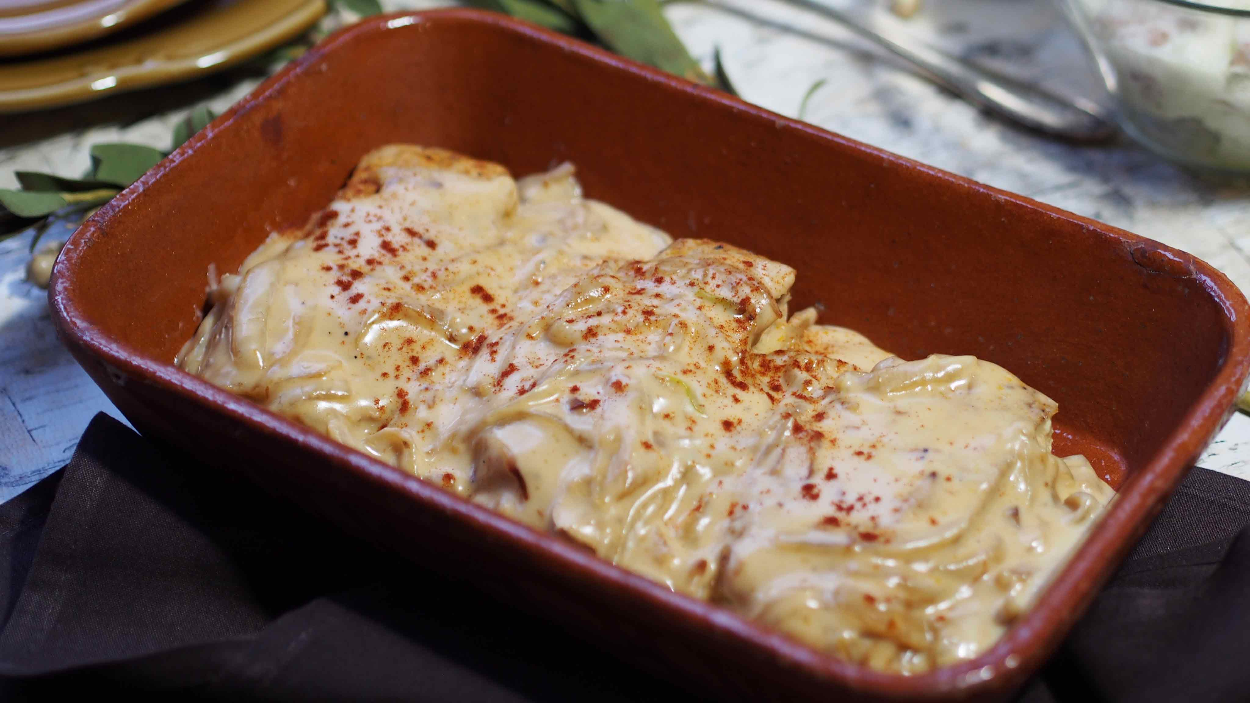 Image for Recipe Smoked Gouda Pork Chops with Caramelized Onions
